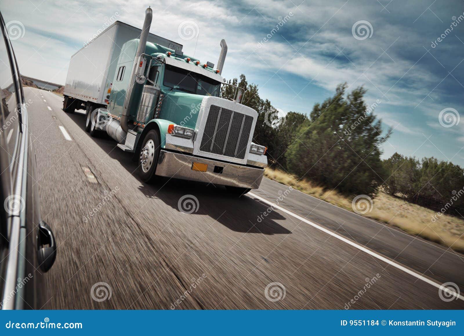 Amerikansk lastbil