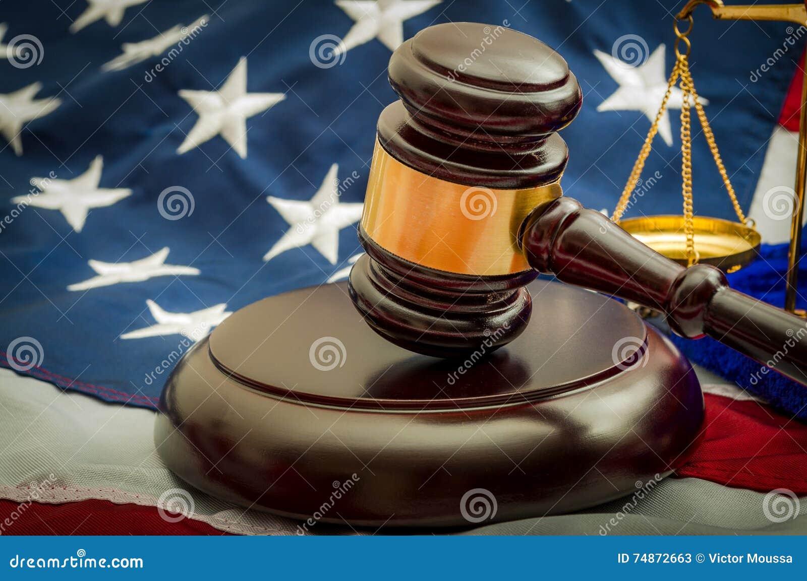 Amerikansk rättsligt system, det juridiskt