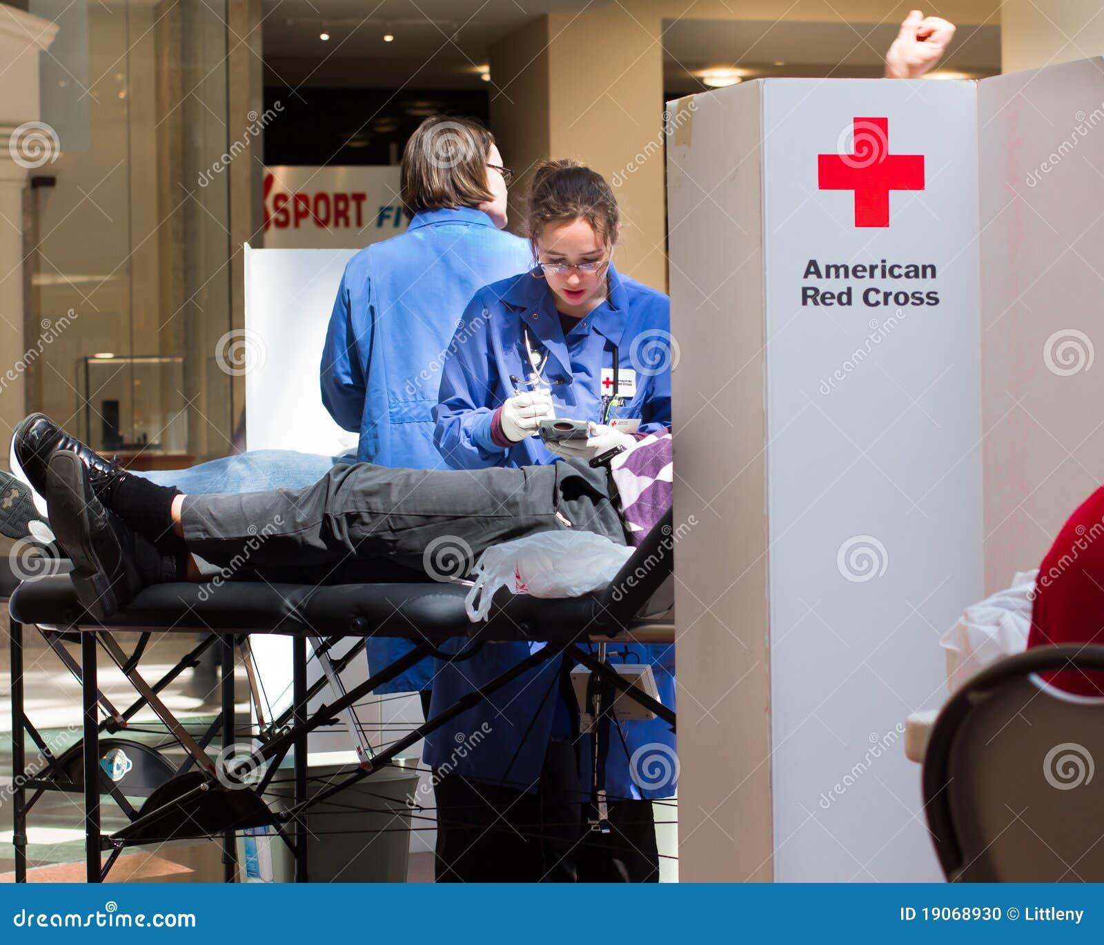 Amerikansk red för blodkorsdrev