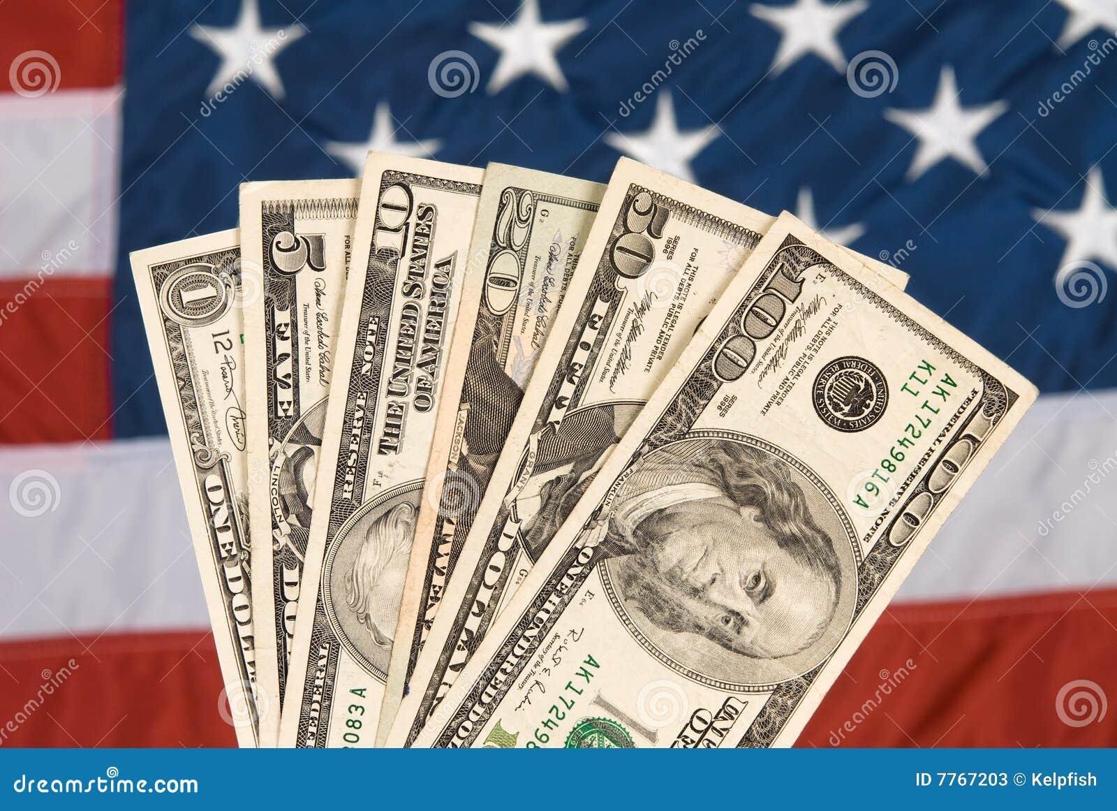 Amerikansk valutaflagga
