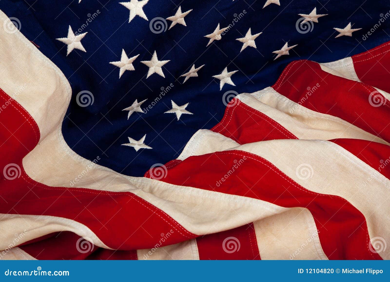 Amerikanska förenade bakgrundsflaggatillstånd