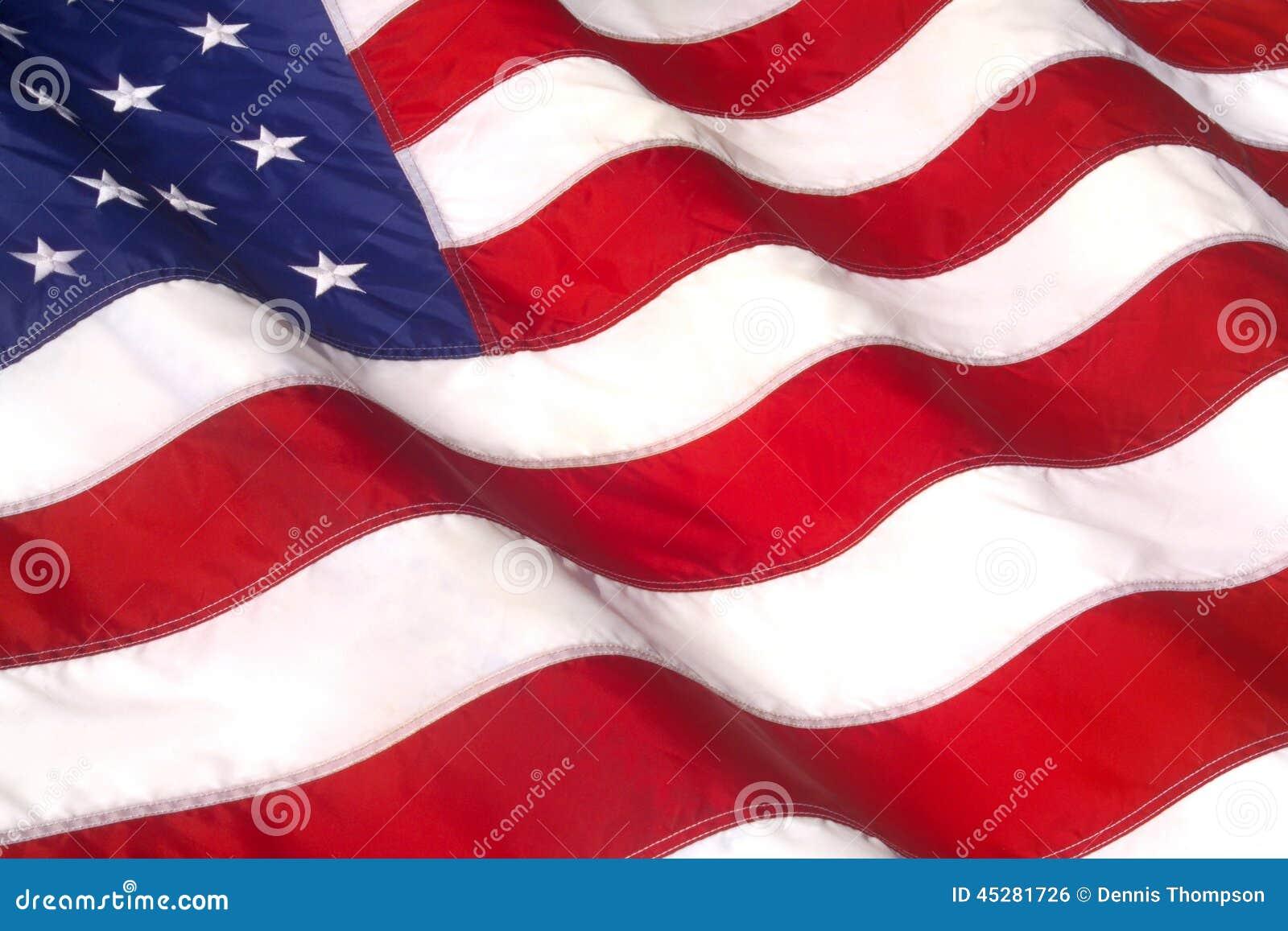 Amerikanska flagganvåg