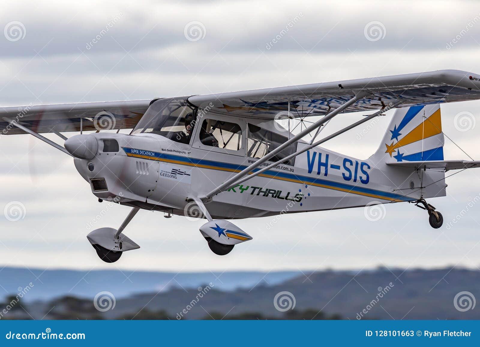 Amerikanskt flygplan VH-SIS för enkel motor för tiokamp för mästare 8KCAB-180 toppet aerobatic