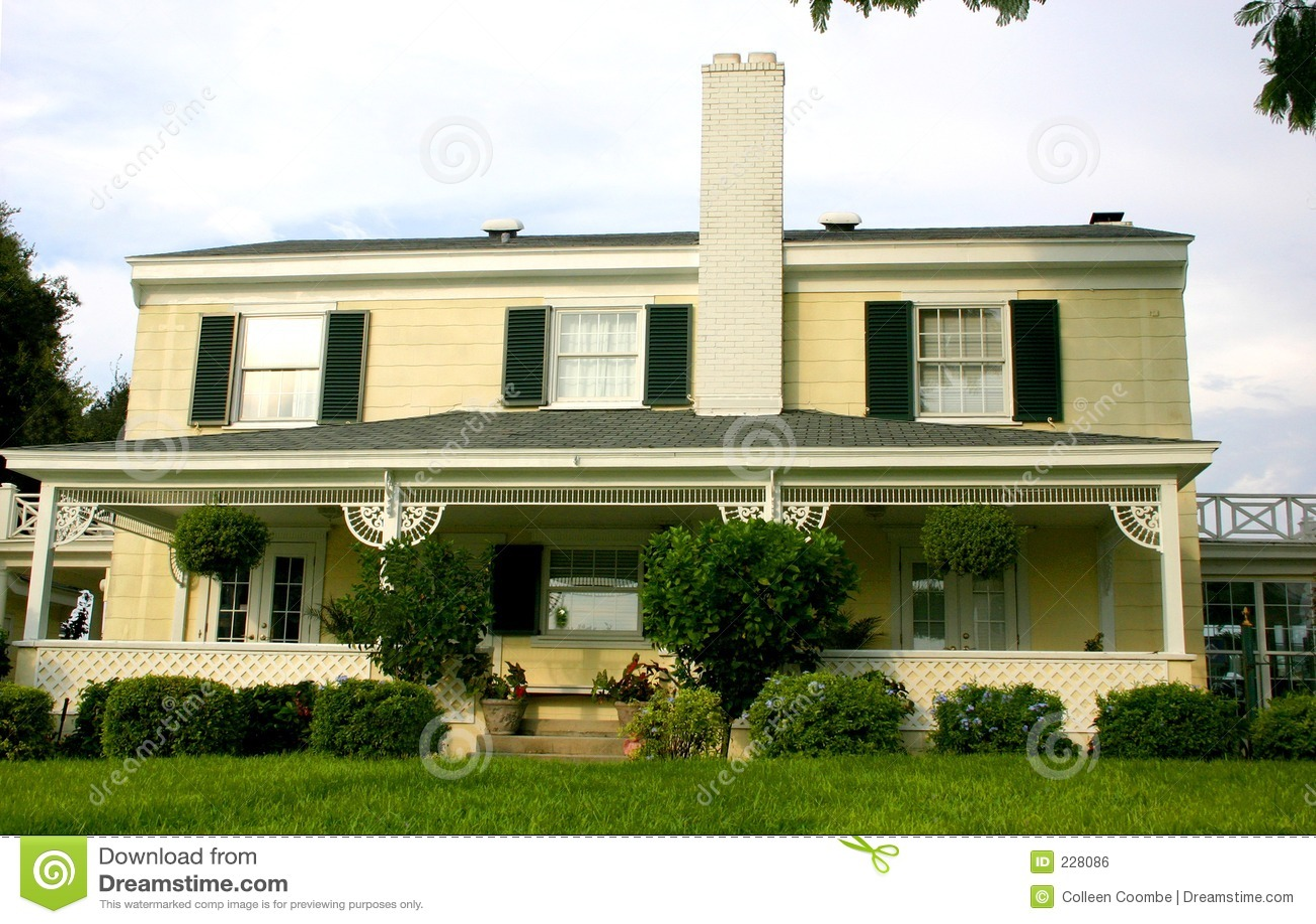 Amerikanskt home traditionellt