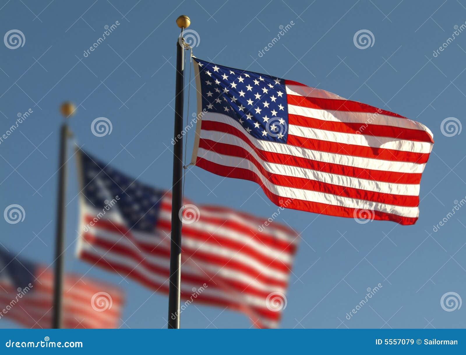 Amerykański flagę