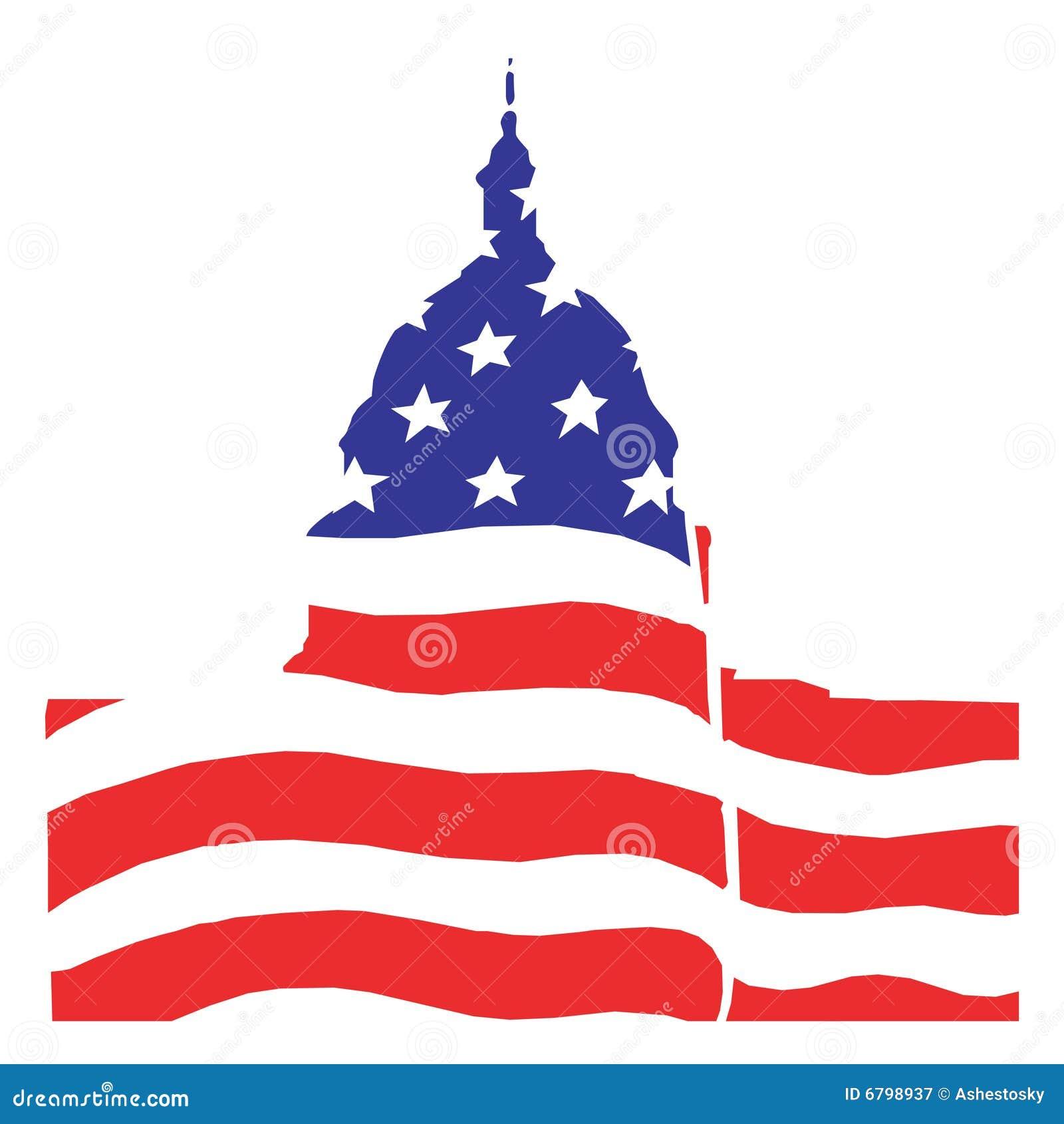 Amerykański ilustracyjny senacki Washington