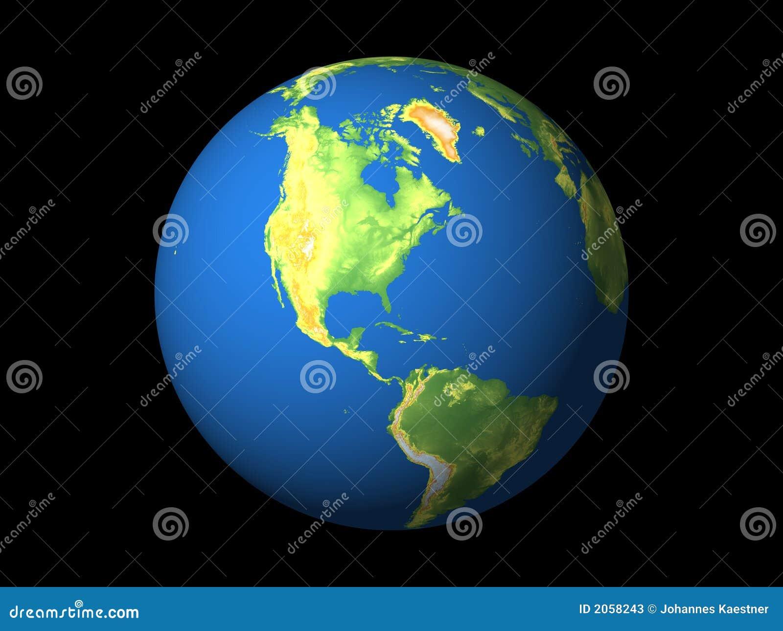 Ameryka n s atlantic północny świat