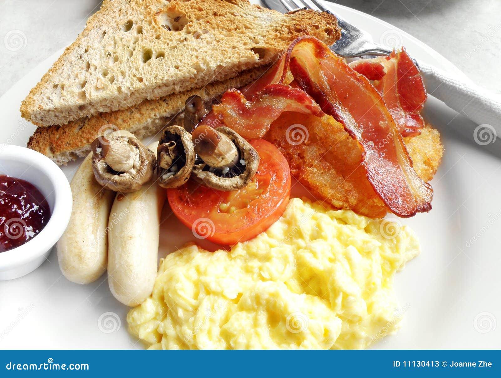 Amerykanina śniadanie