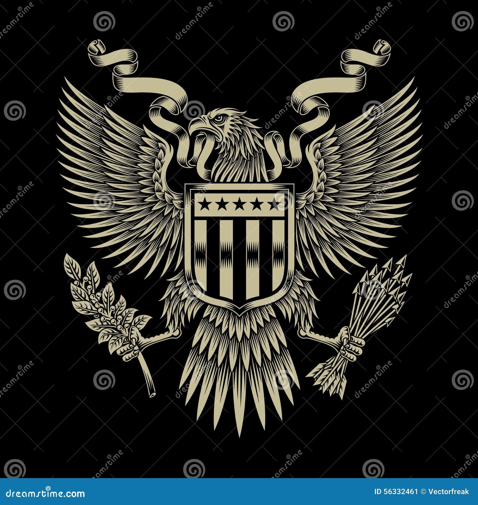 Amerykanina Eagle emblemat