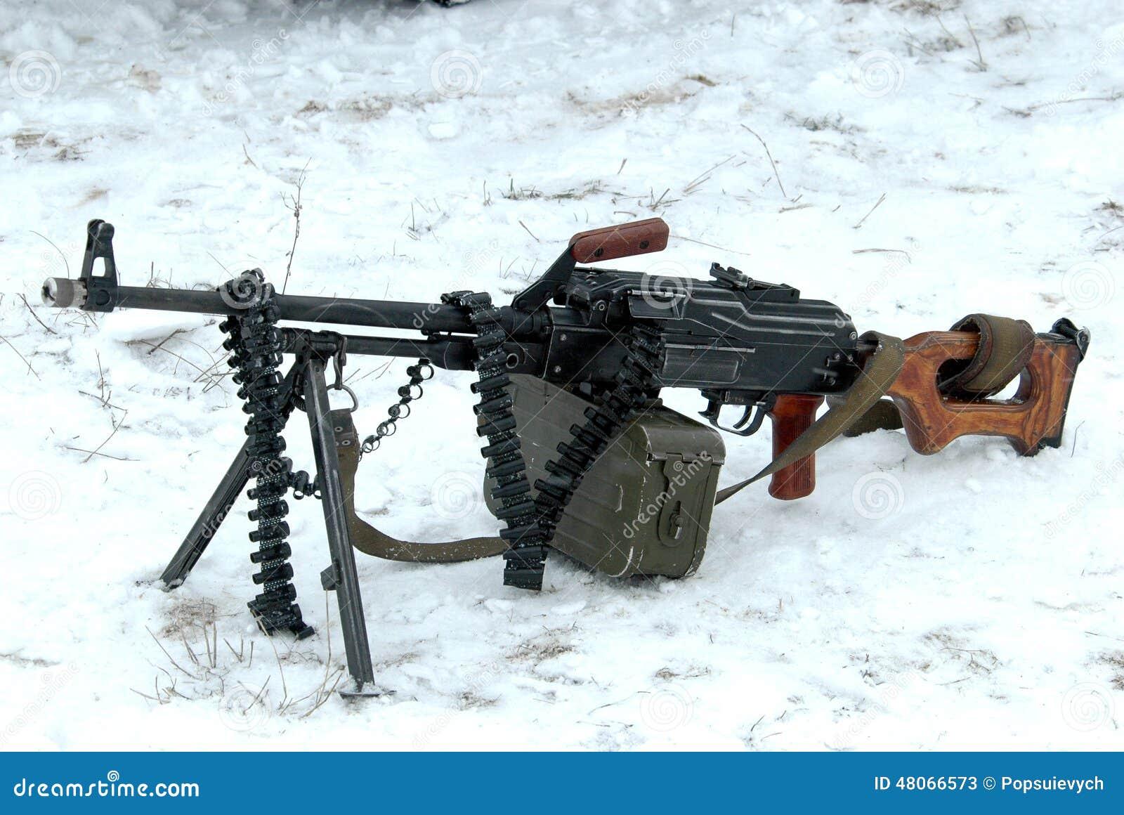 PKP Pecheng, la ametralladora rusa Ametralladora-pkm-48066573