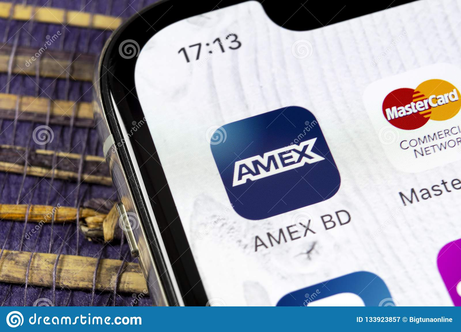 Amex Application Icon On Apple Iphone X Smartphone Screen Close Up Amex App Icon American Express Is An Online Electronic Financ Editorial Photography Image Of Marketing Closeup 133923857