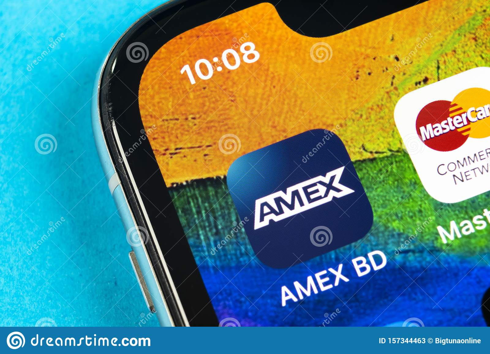 Amex Application Icon On Apple Iphone X Smartphone Screen Close Up Amex App Icon American Express Is An Online Electronic Financ Editorial Stock Photo Image Of Making Debit 157344463