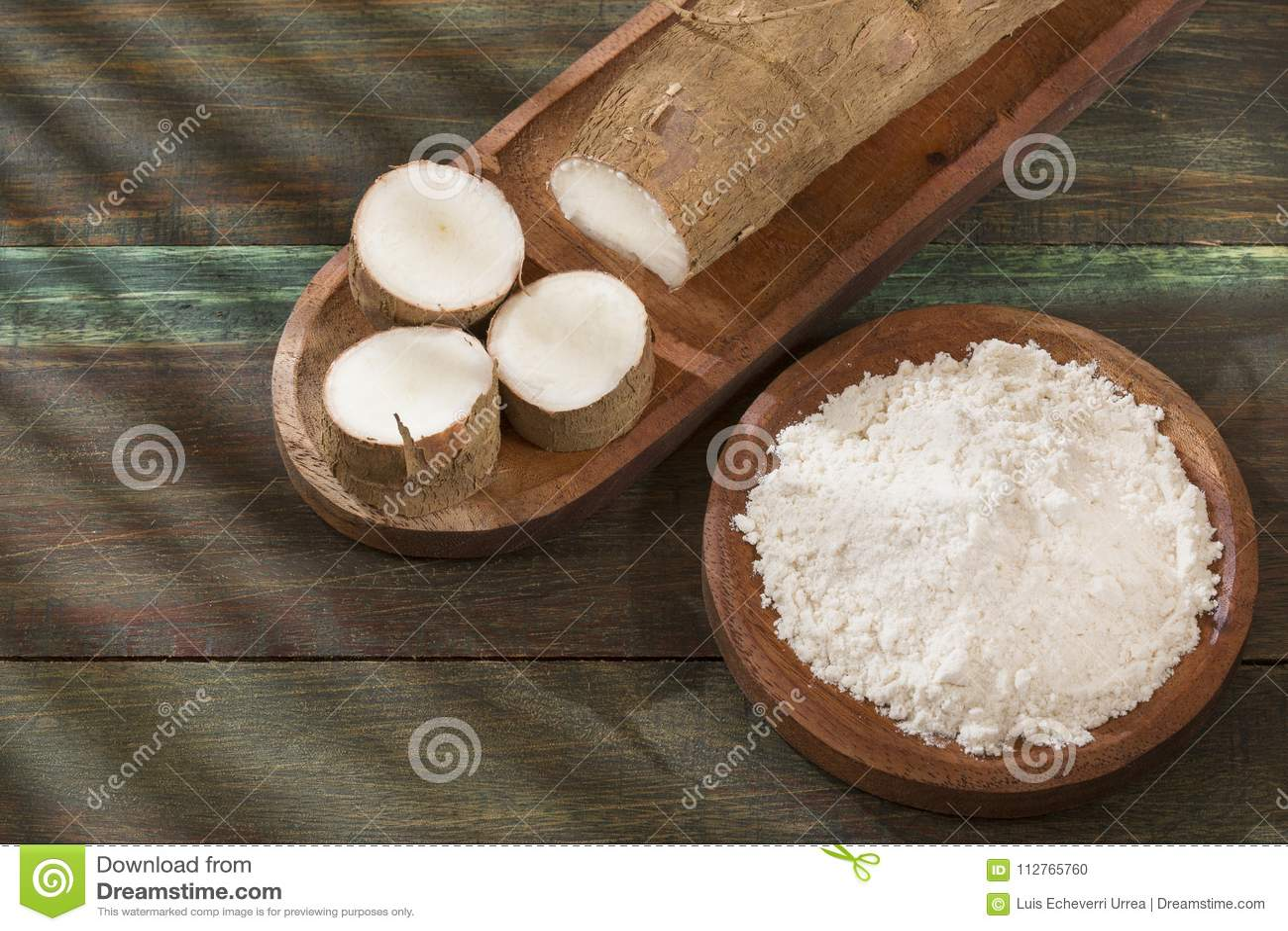Amidon de manioc - Manihot esculenta