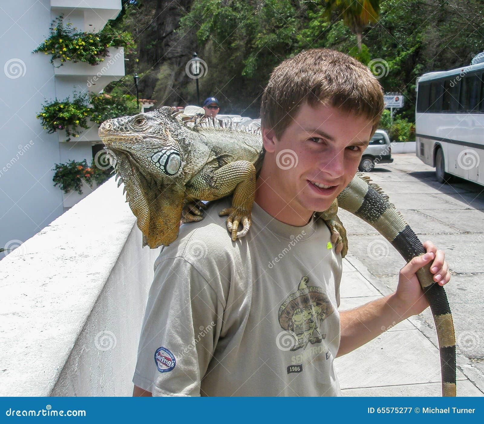 Amigo da iguana