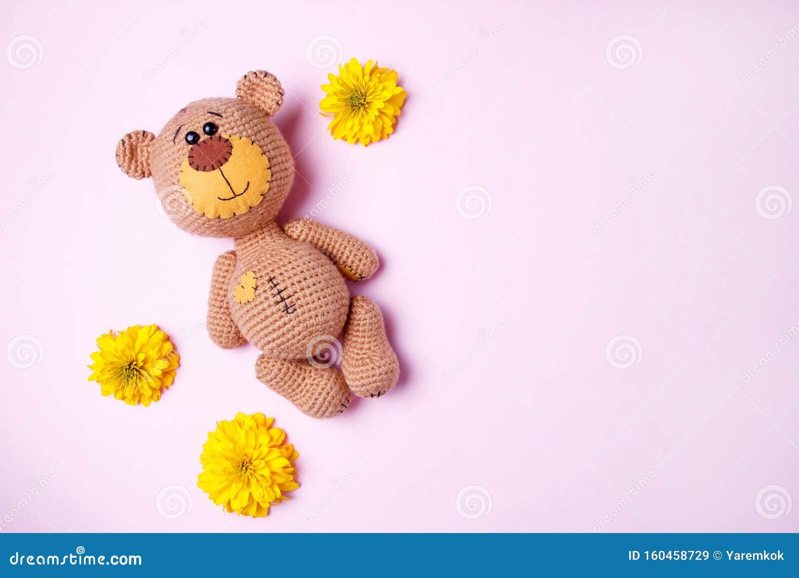 Amigurumi Pink Bear Free Pattern - Knittting Crochet   1155x1600