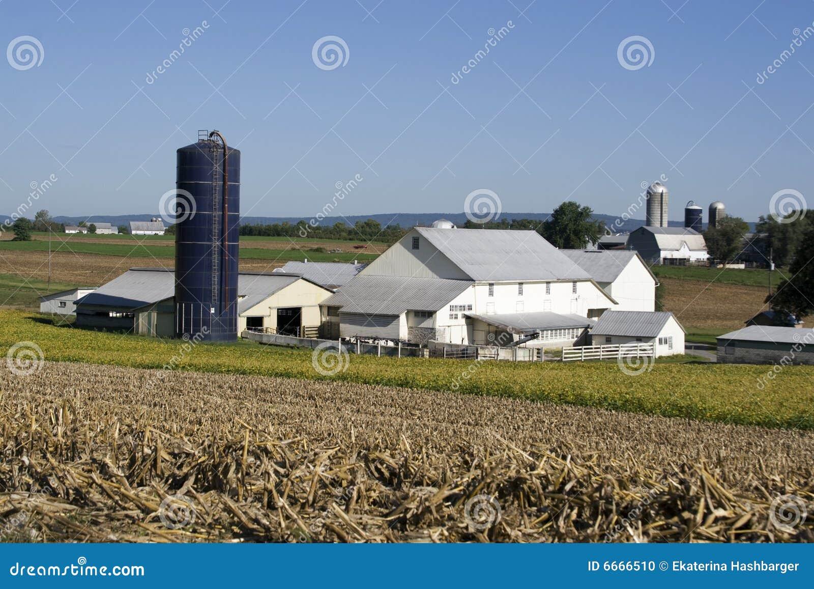 Amish gospodarstwa rolnego dom