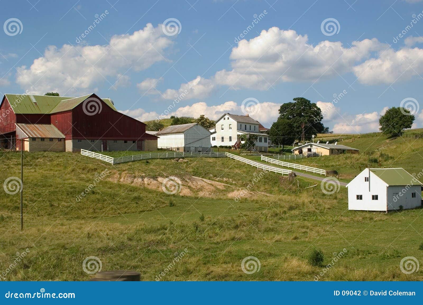 Amish lantgård