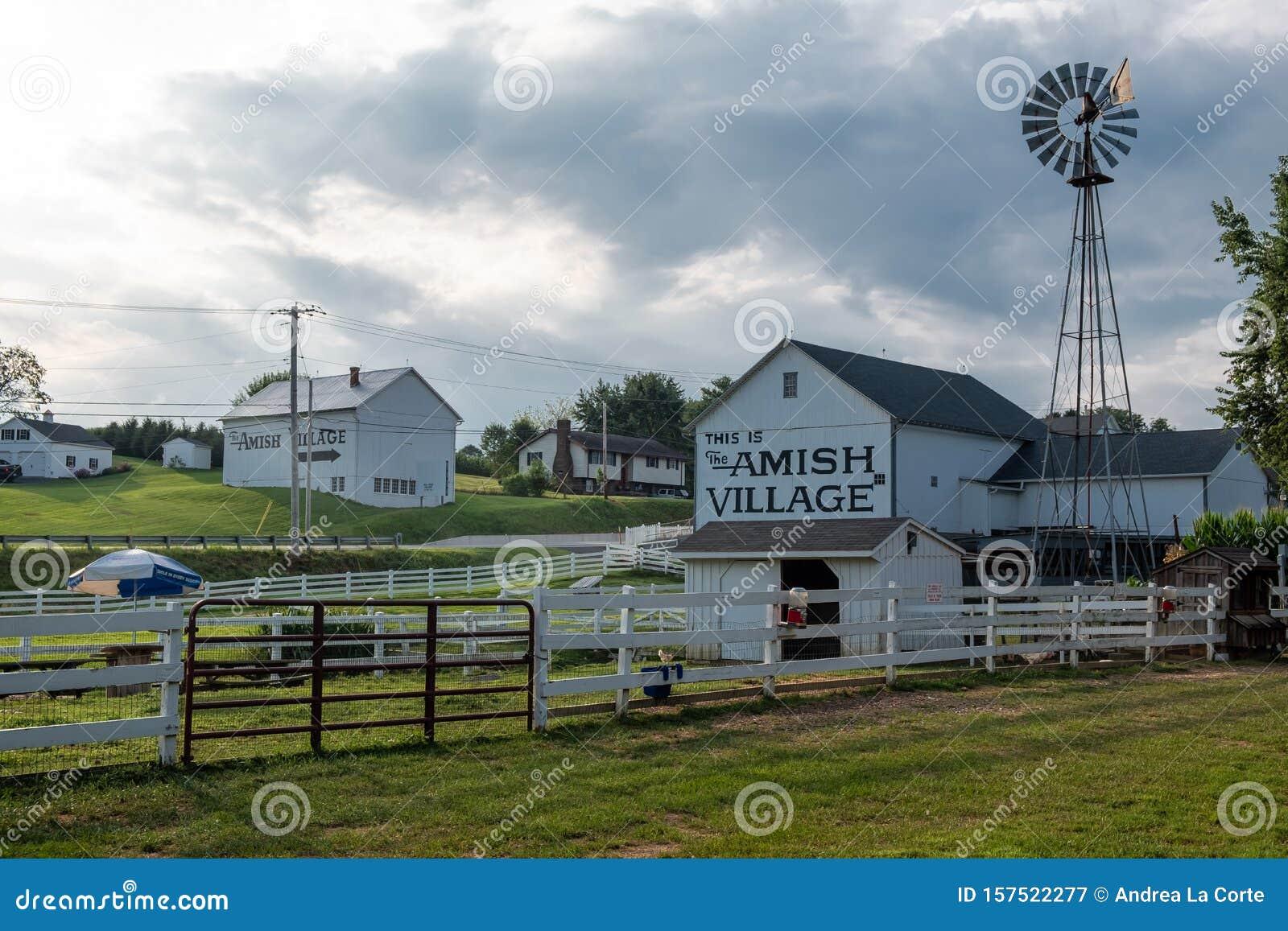Amish Village building, Pennsylvania
