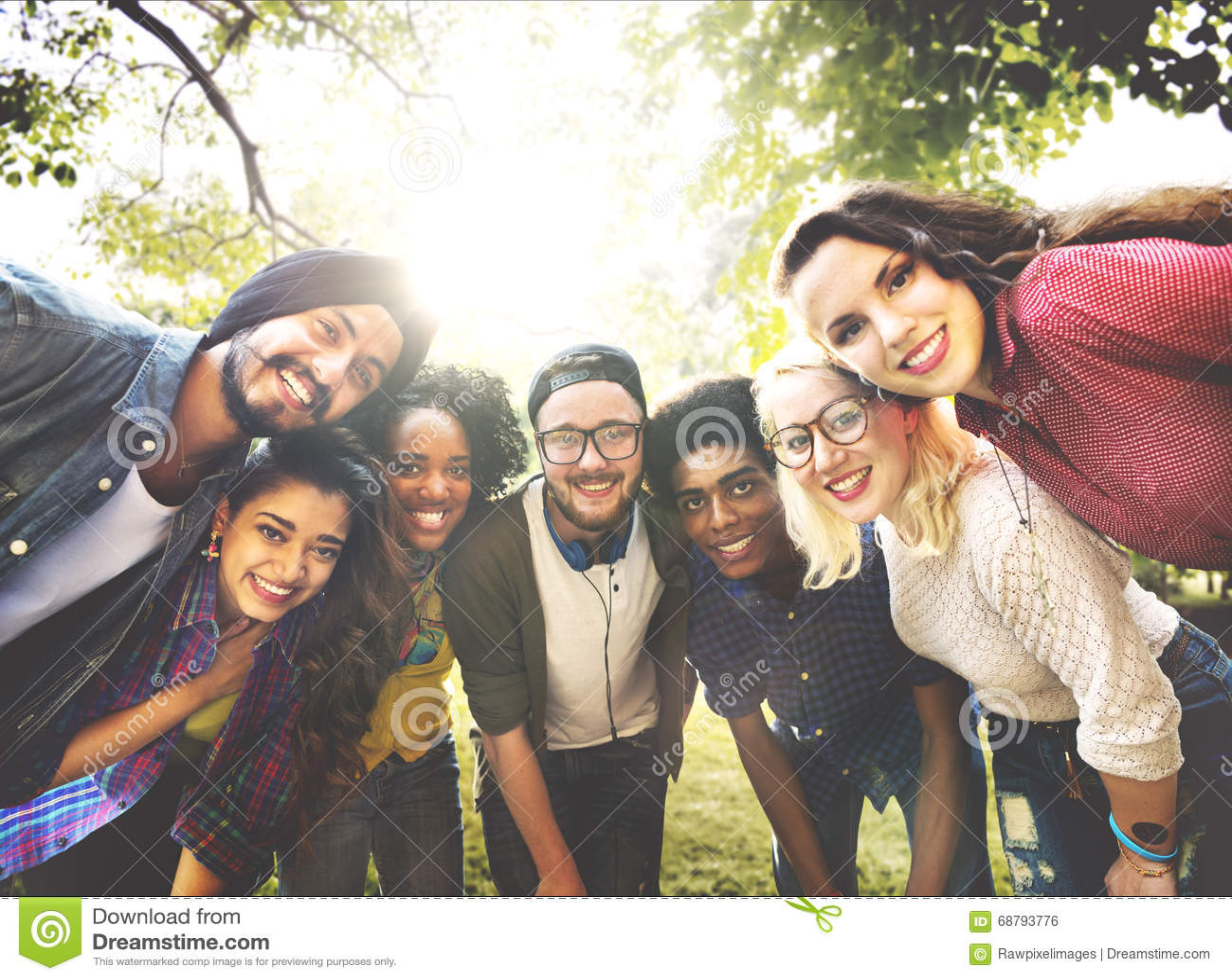 Amizade Team Community Concept dos amigos da diversidade