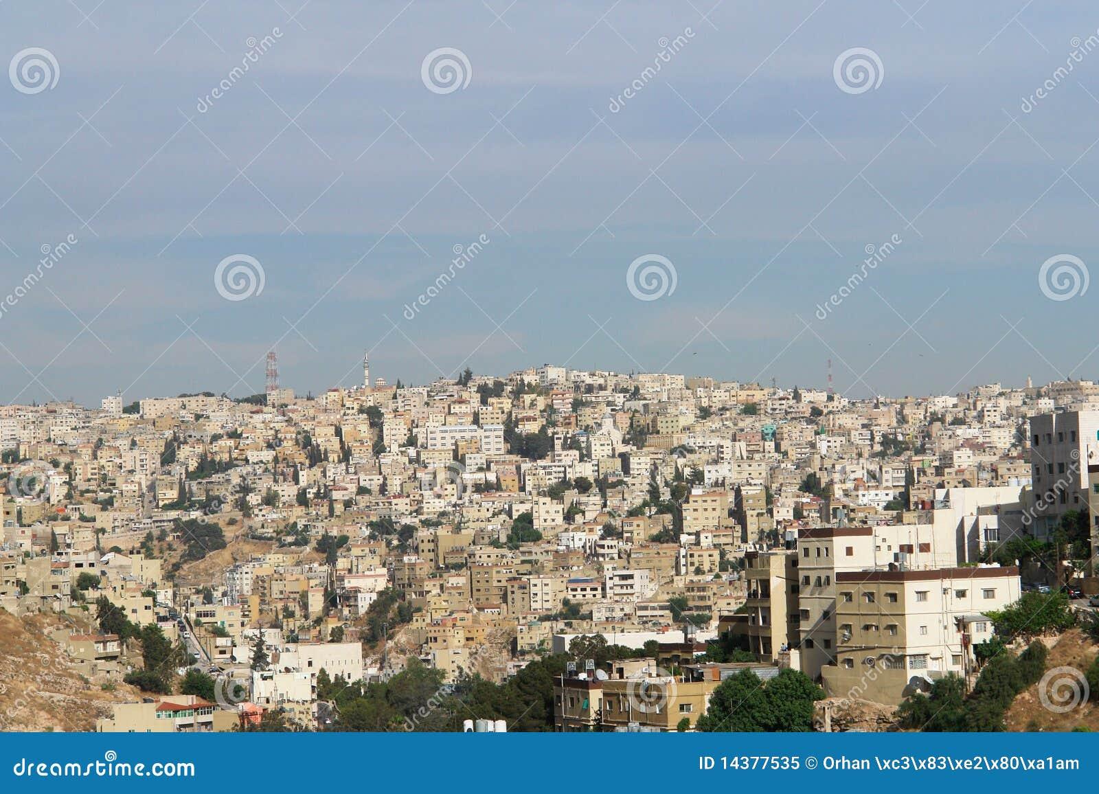 Amman, Jordanie - paysage urbain