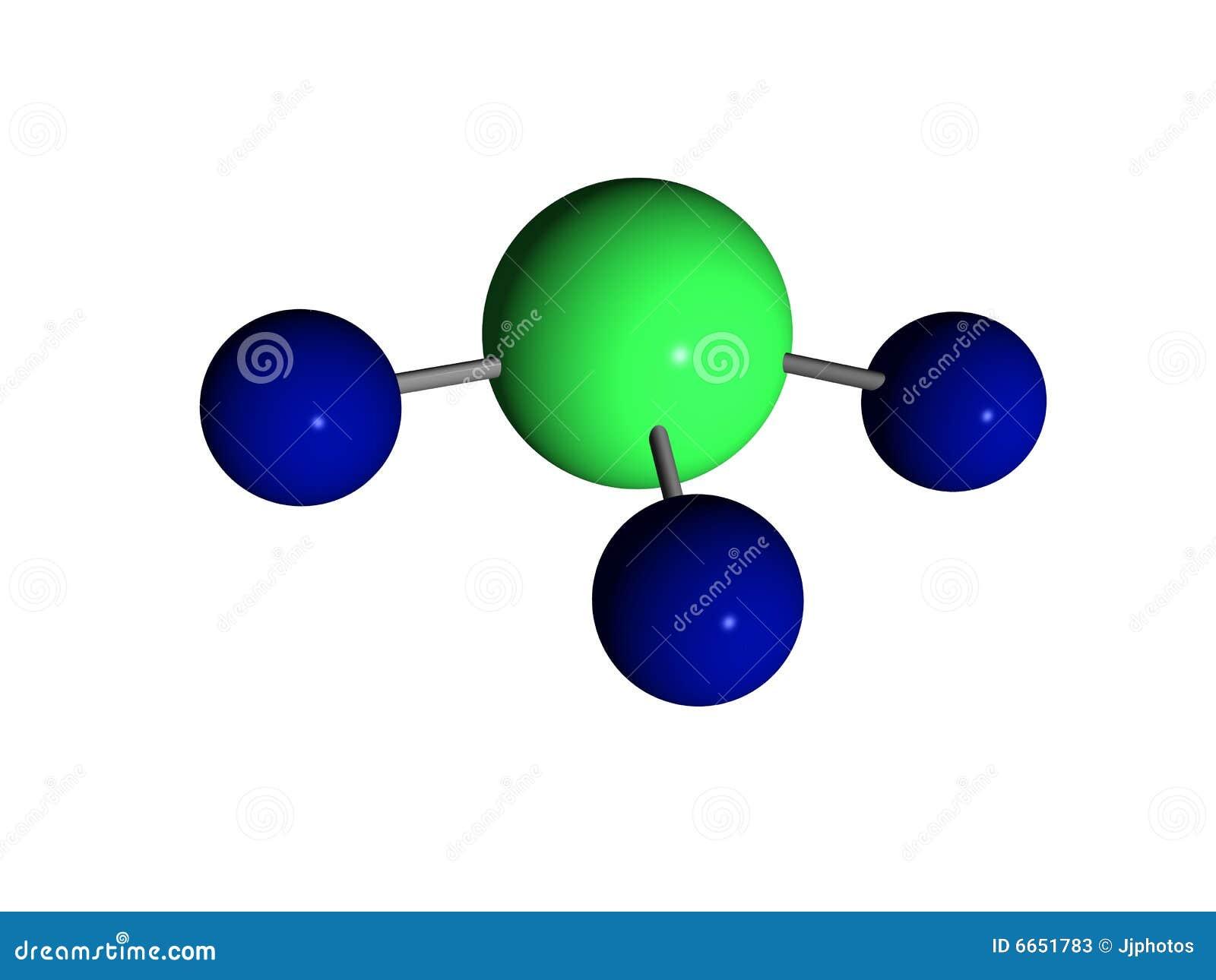 Ammoniakmolekylnh3