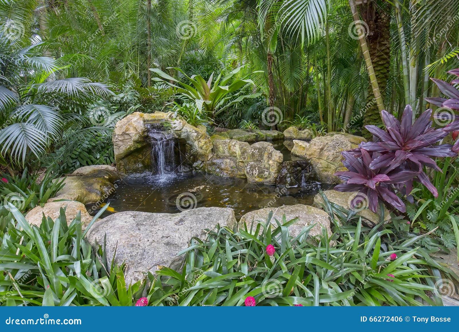 Am nagement de l 39 tang artificiel de jardin de roche photo for Amenagement etang de jardin