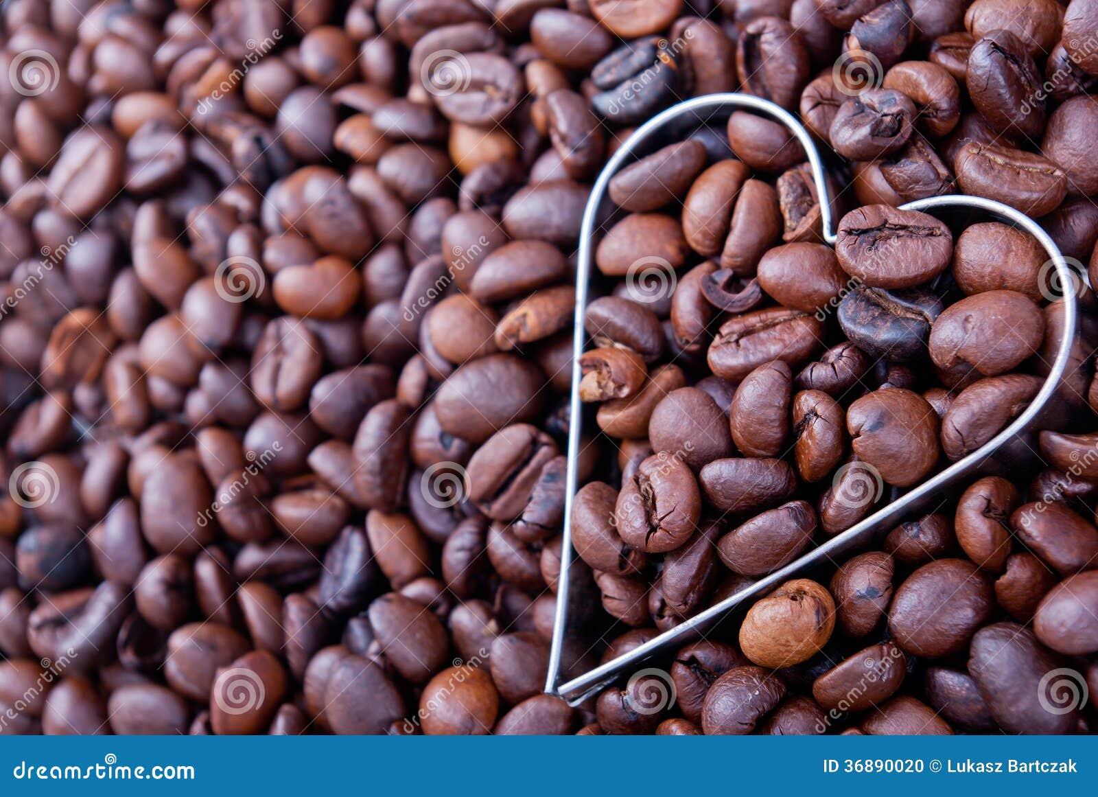 Download Amo il caffè fotografia stock. Immagine di disegno, cappuccino - 36890020