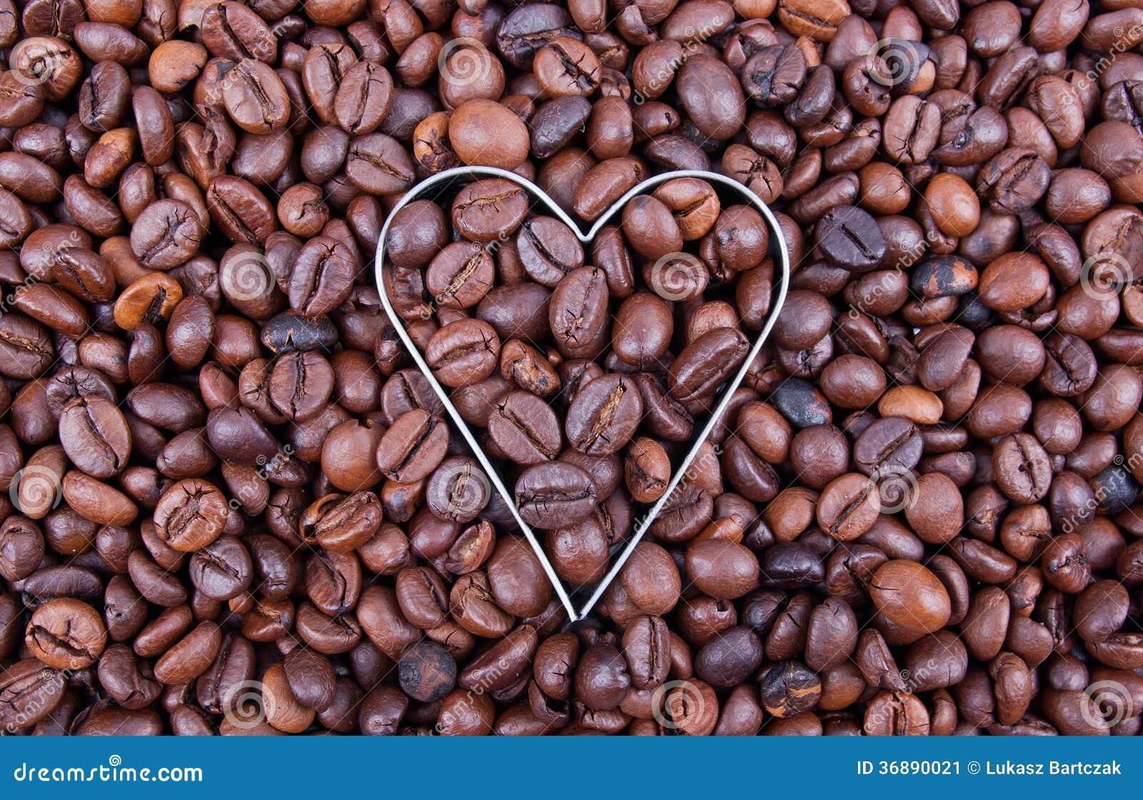 Download Amo il caffè immagine stock. Immagine di aromatico, concetti - 36890021