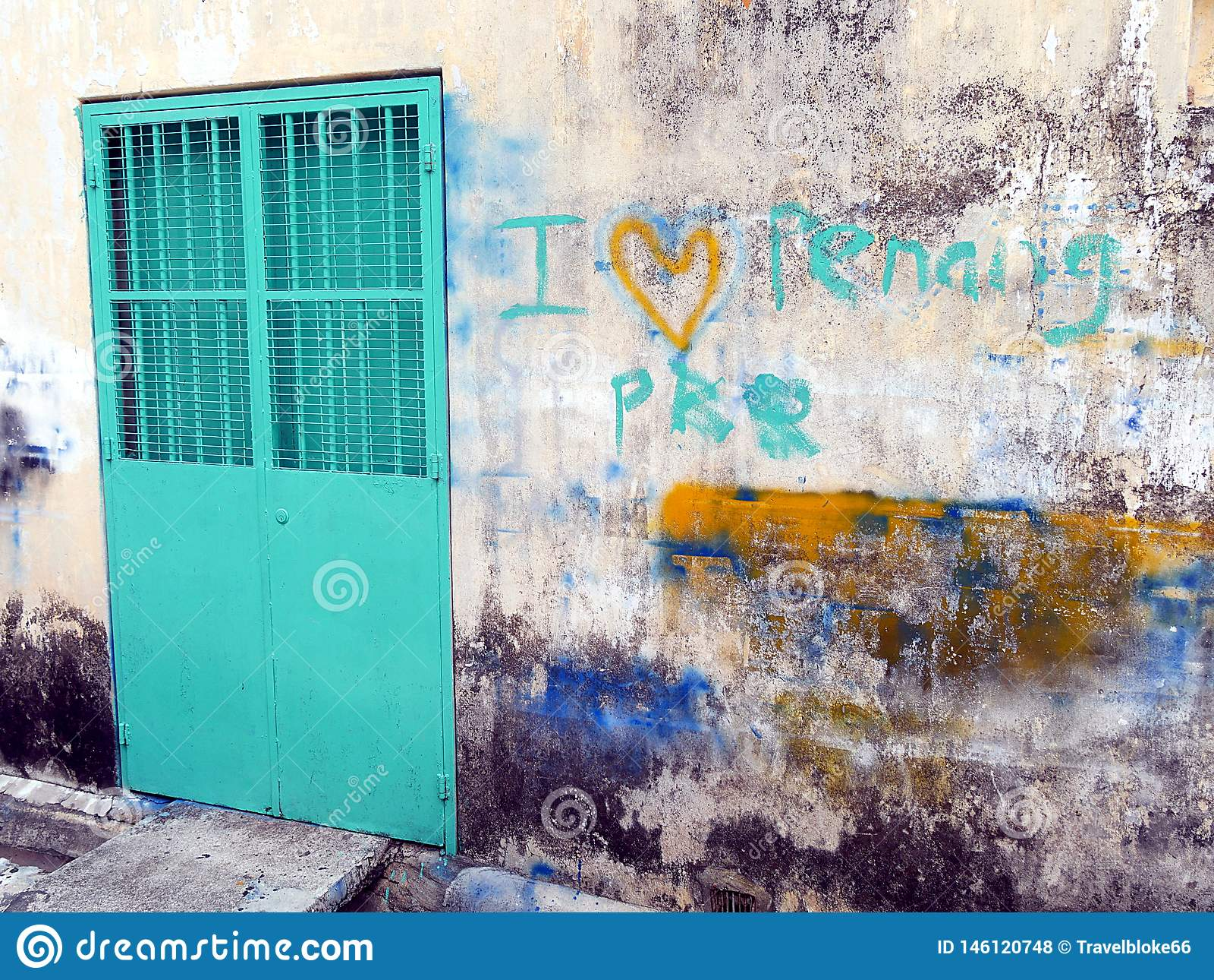 Amo Penang Georgetown murala Malesia
