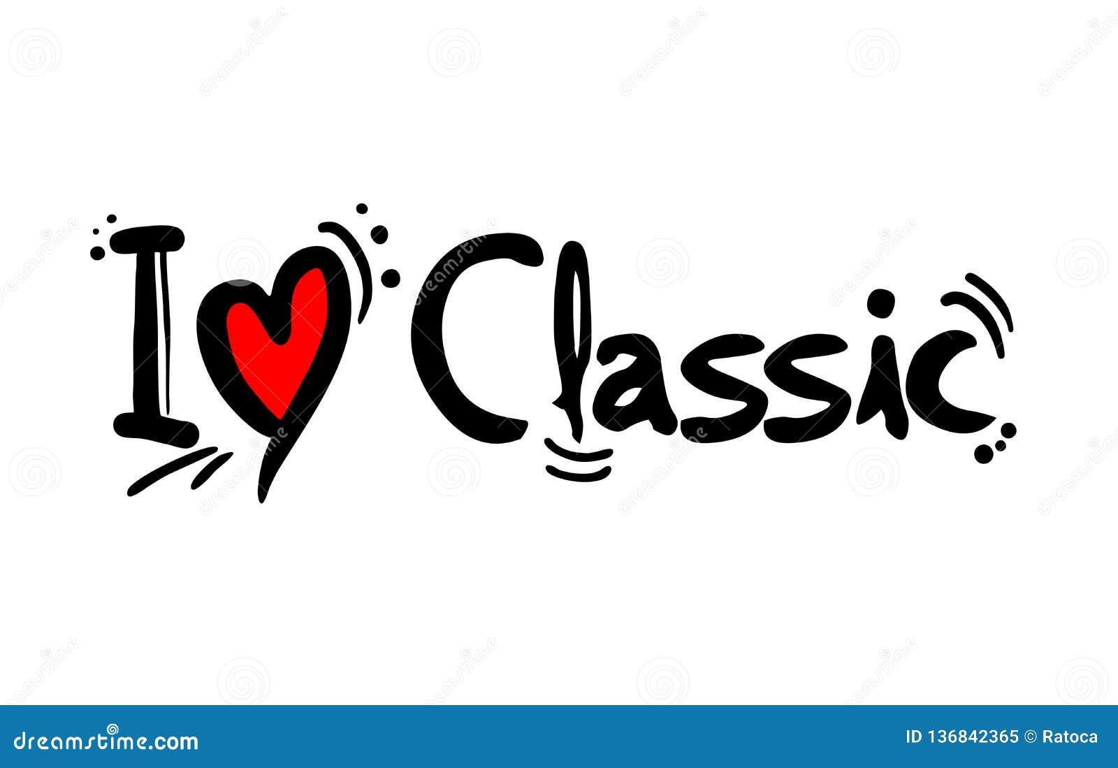 Amor clássico da música