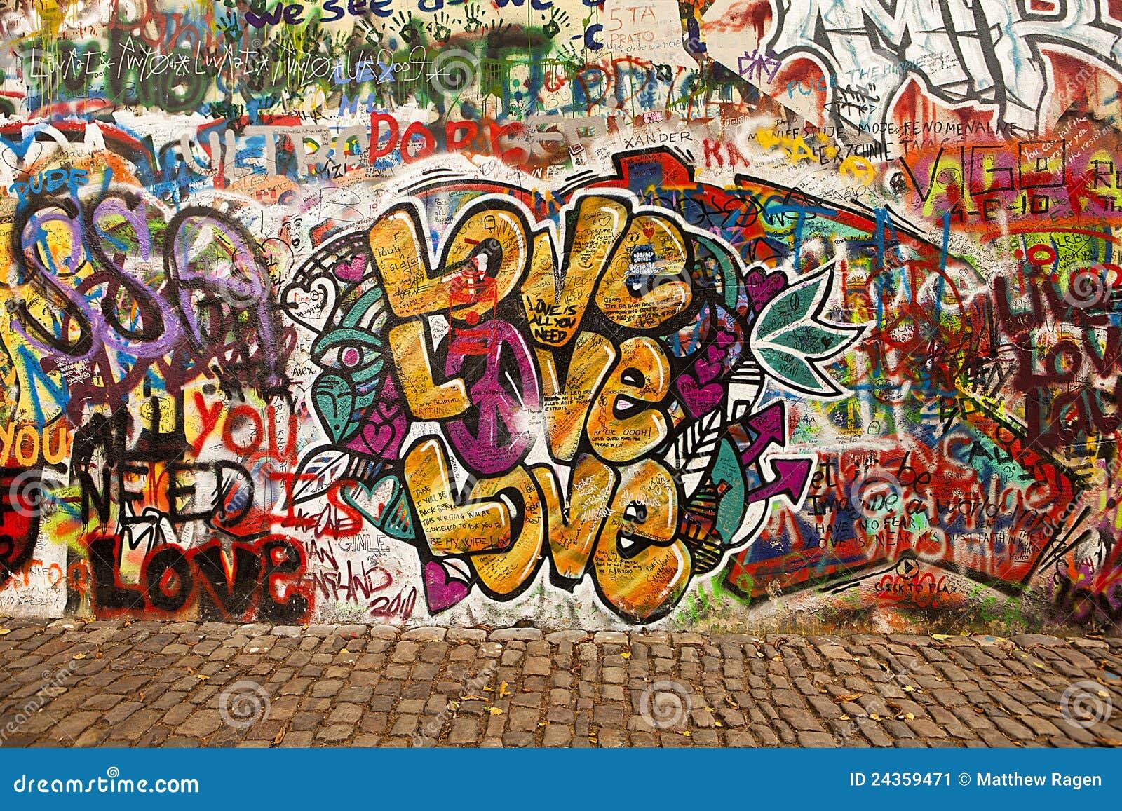 Amor en la pared de Lennon