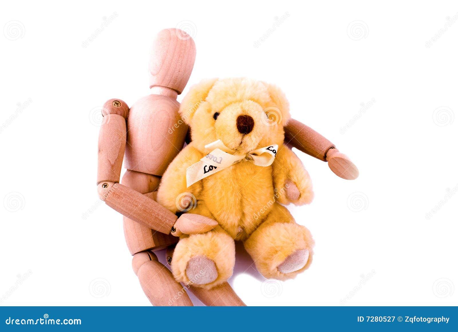 Amor entre el maniquí y el oso