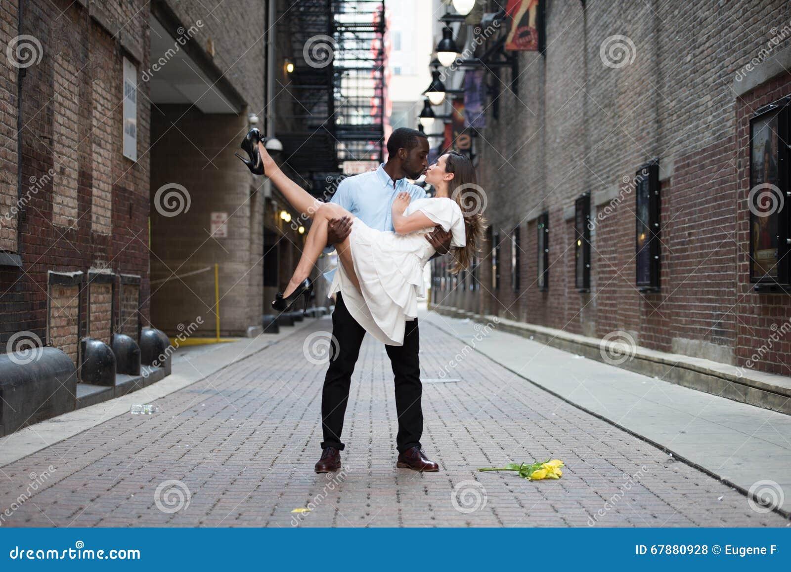 Amor intenso al aire libre