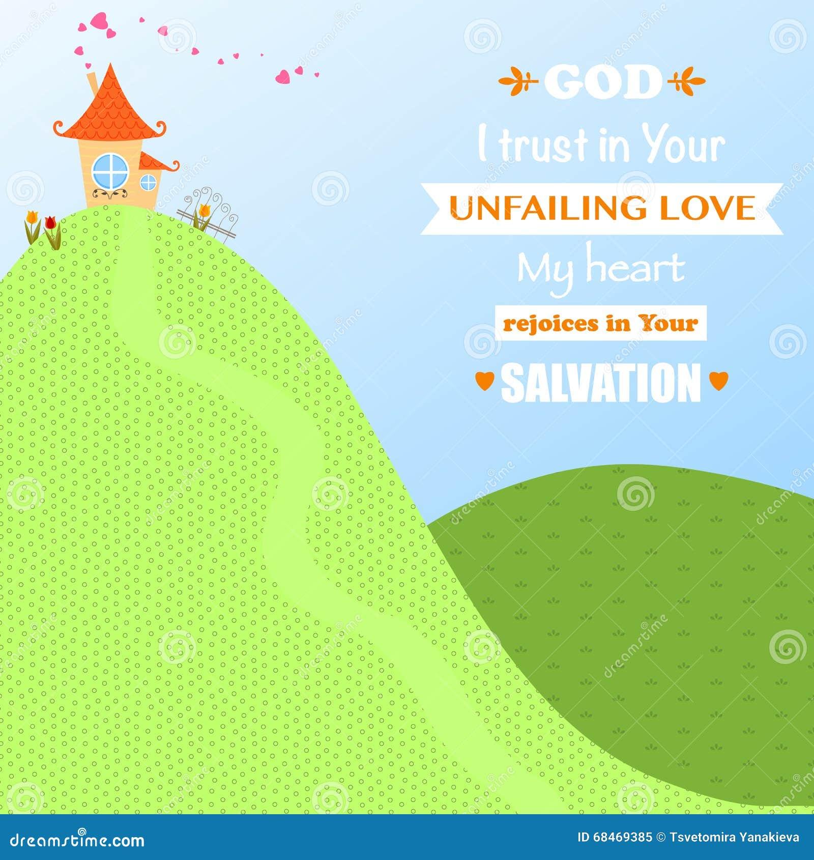 Amor Joy Faith Vector Illustration de la adoración de Jesus Christ Background Design Cartoon de dios