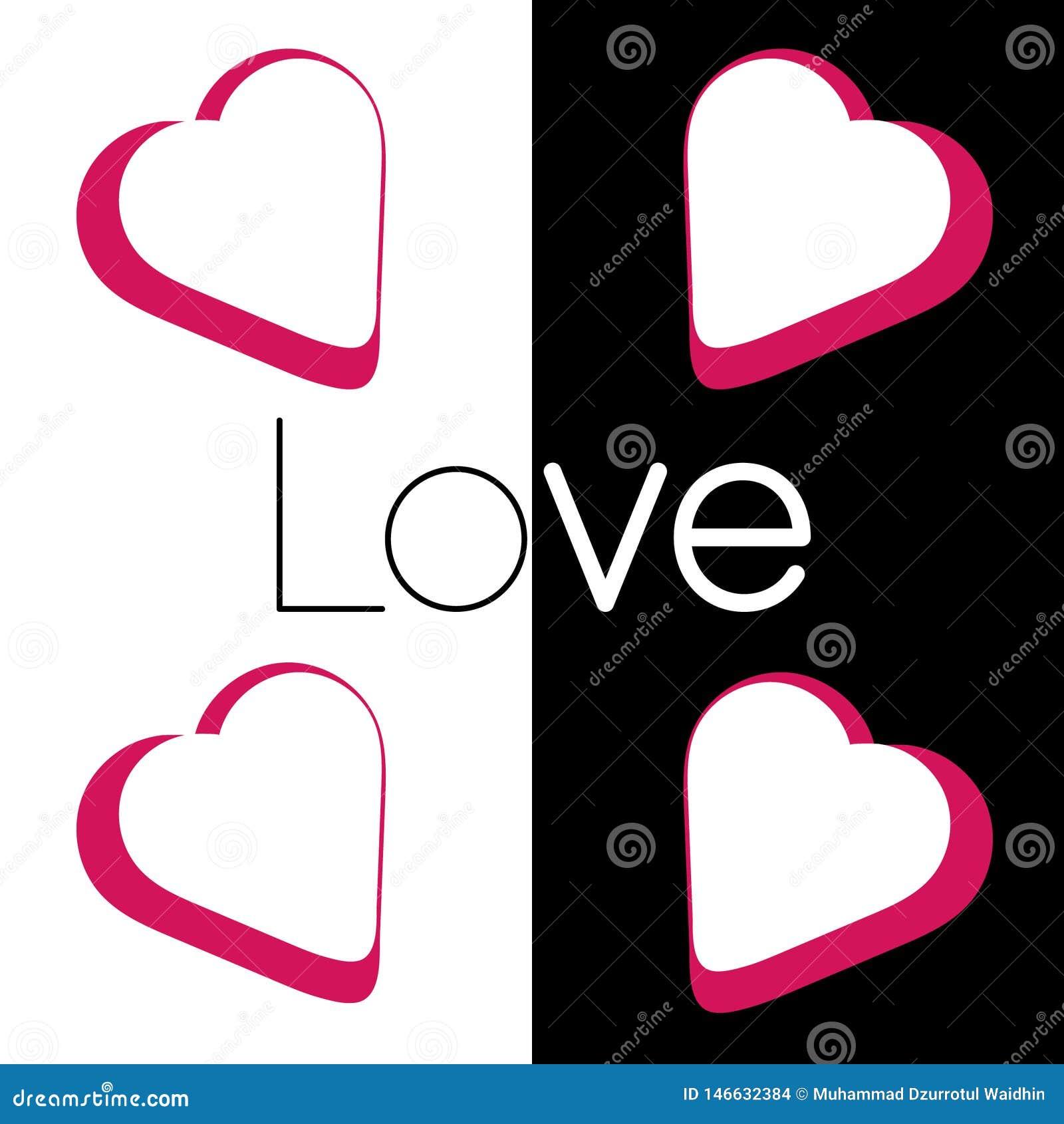 Amor no preto branco