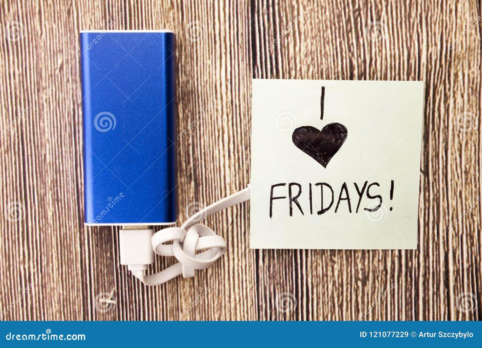 Amor viernes de la gente I' m en amor con él el comienzo del fin de semana La relajación del arrancador del partido empieza