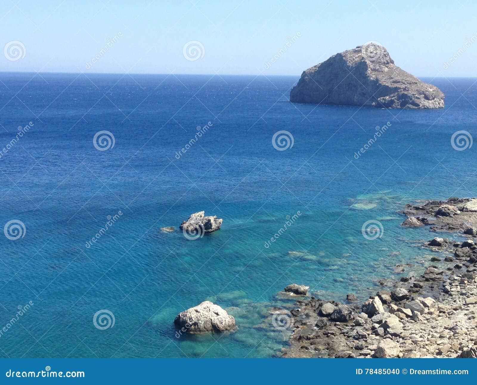 Amorgos, Cycladen, Griekenland