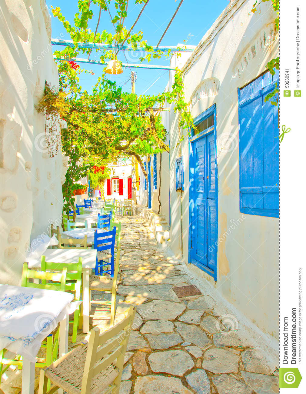 Old beautiful traditional house in chora the capital of amorgos island - Amorgos Beautiful Greece Island Restaurant Road Traditional Blue Old