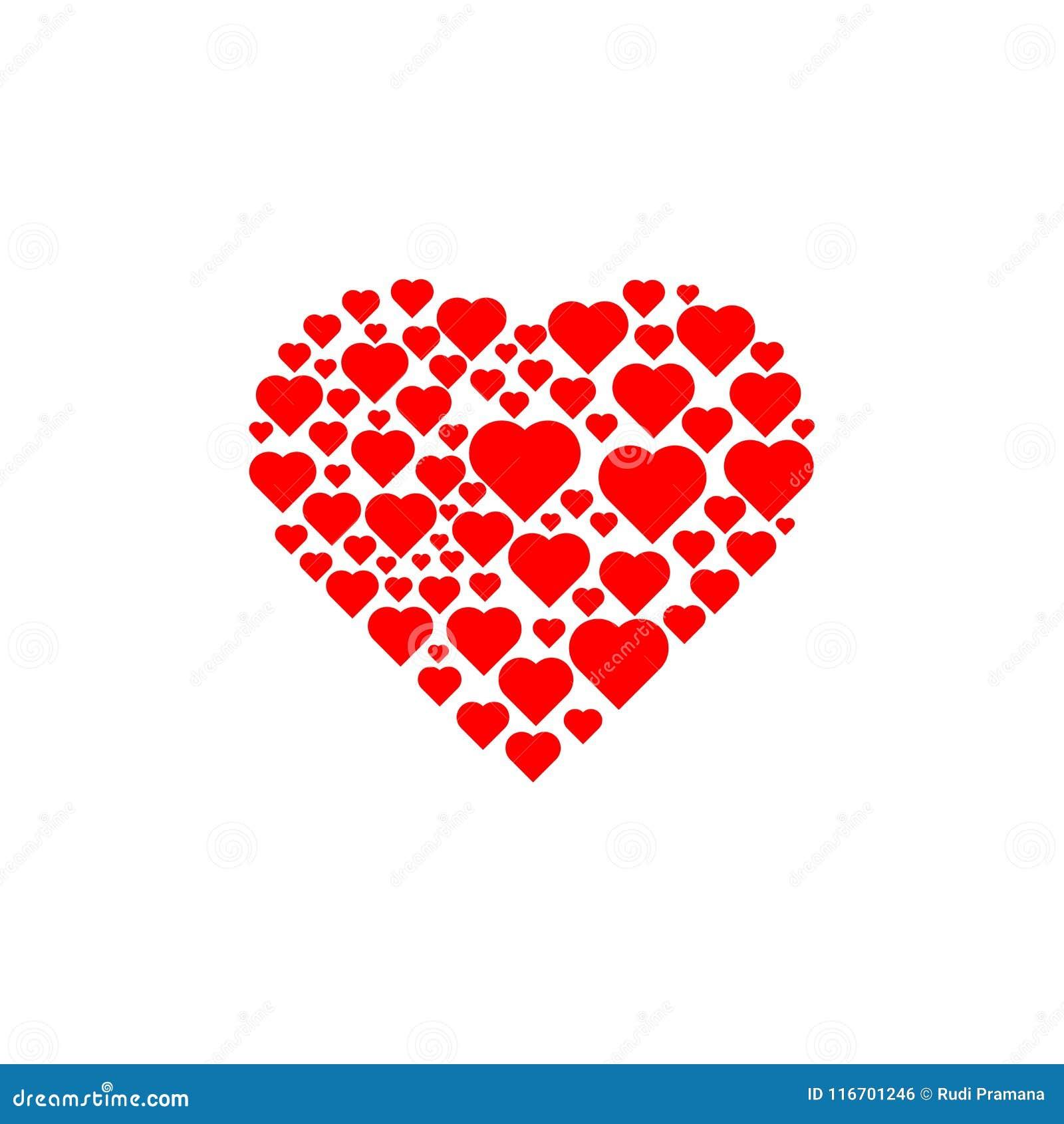 Amour à l intérieur de beaucoup amour