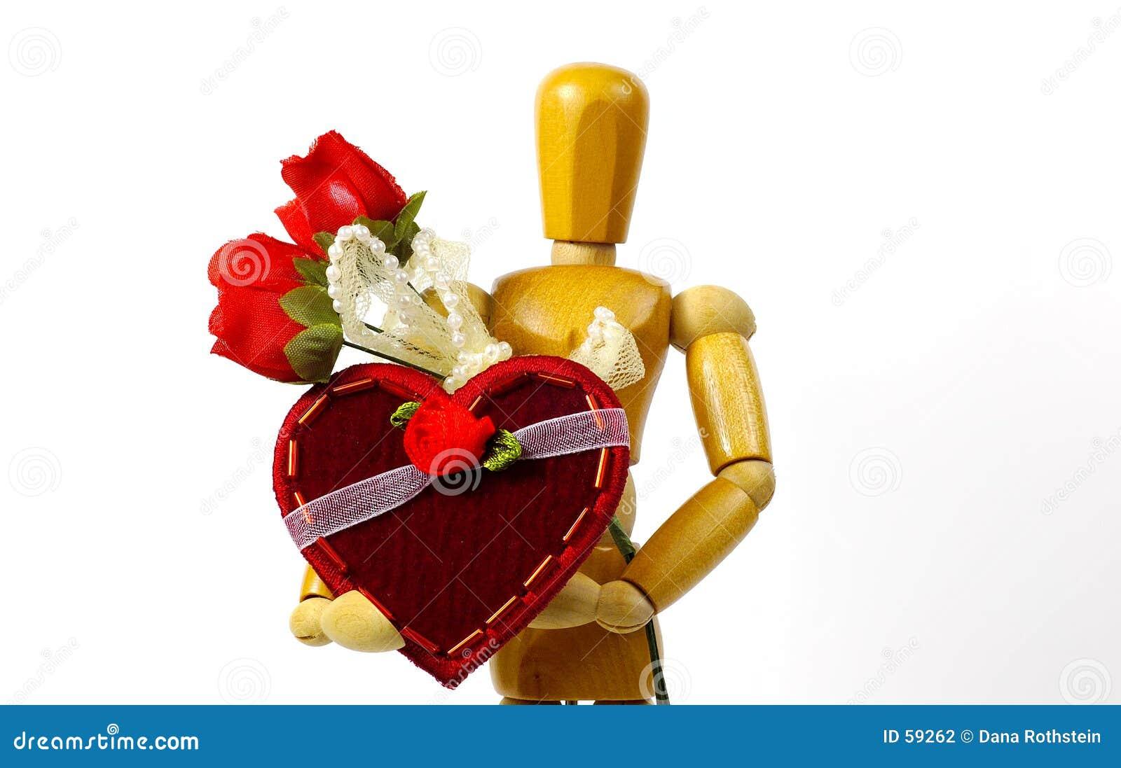 Download Amour photo stock. Image du mannequin, valentines, roses - 59262