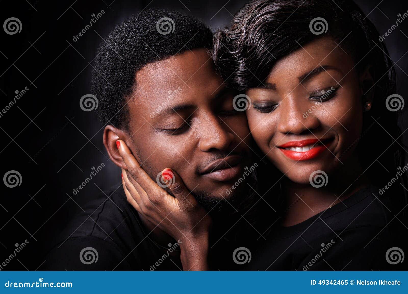 Amour africain de couples