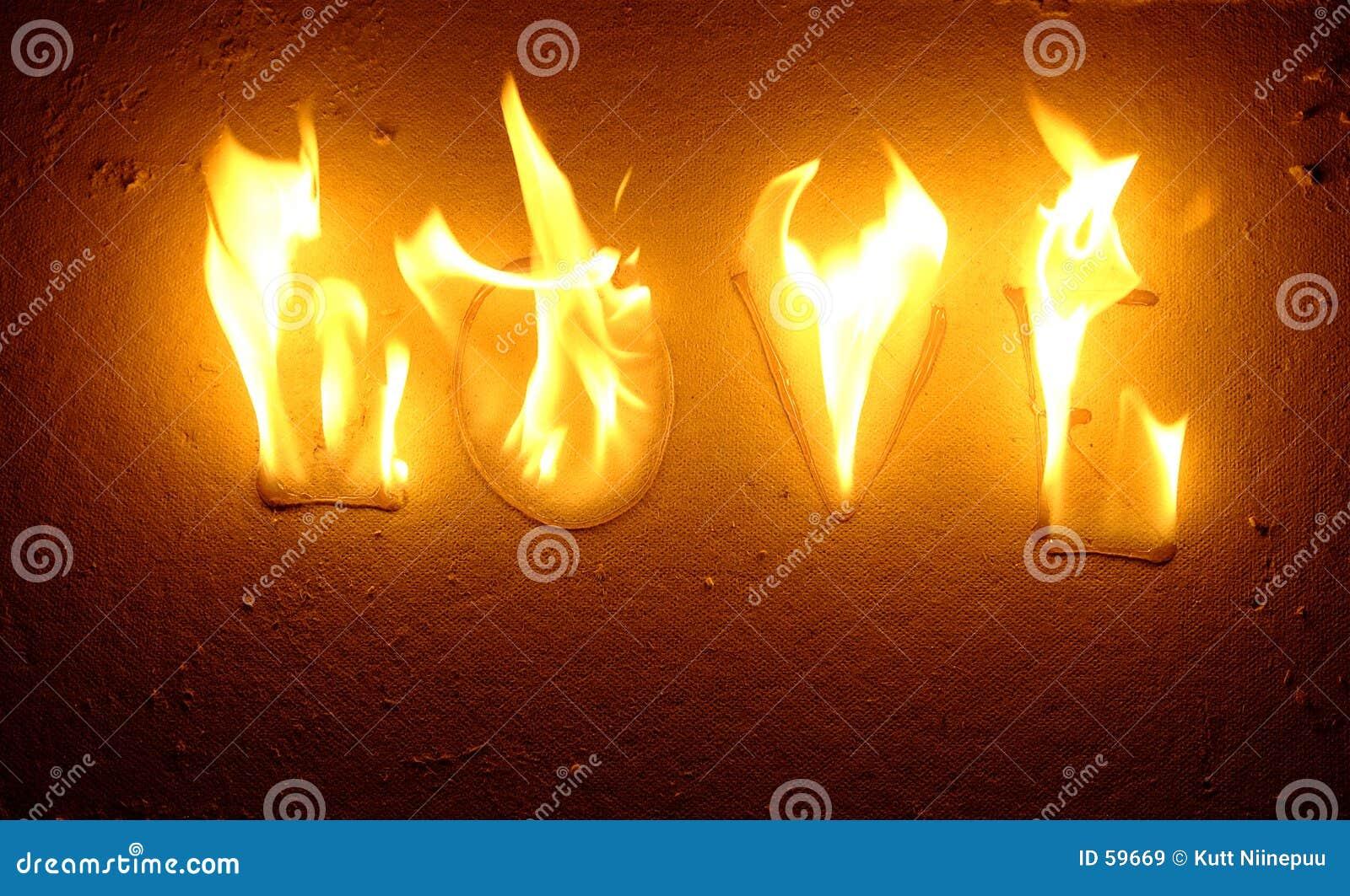 Download Amour brûlant image stock. Image du diable, amour, passion - 59669