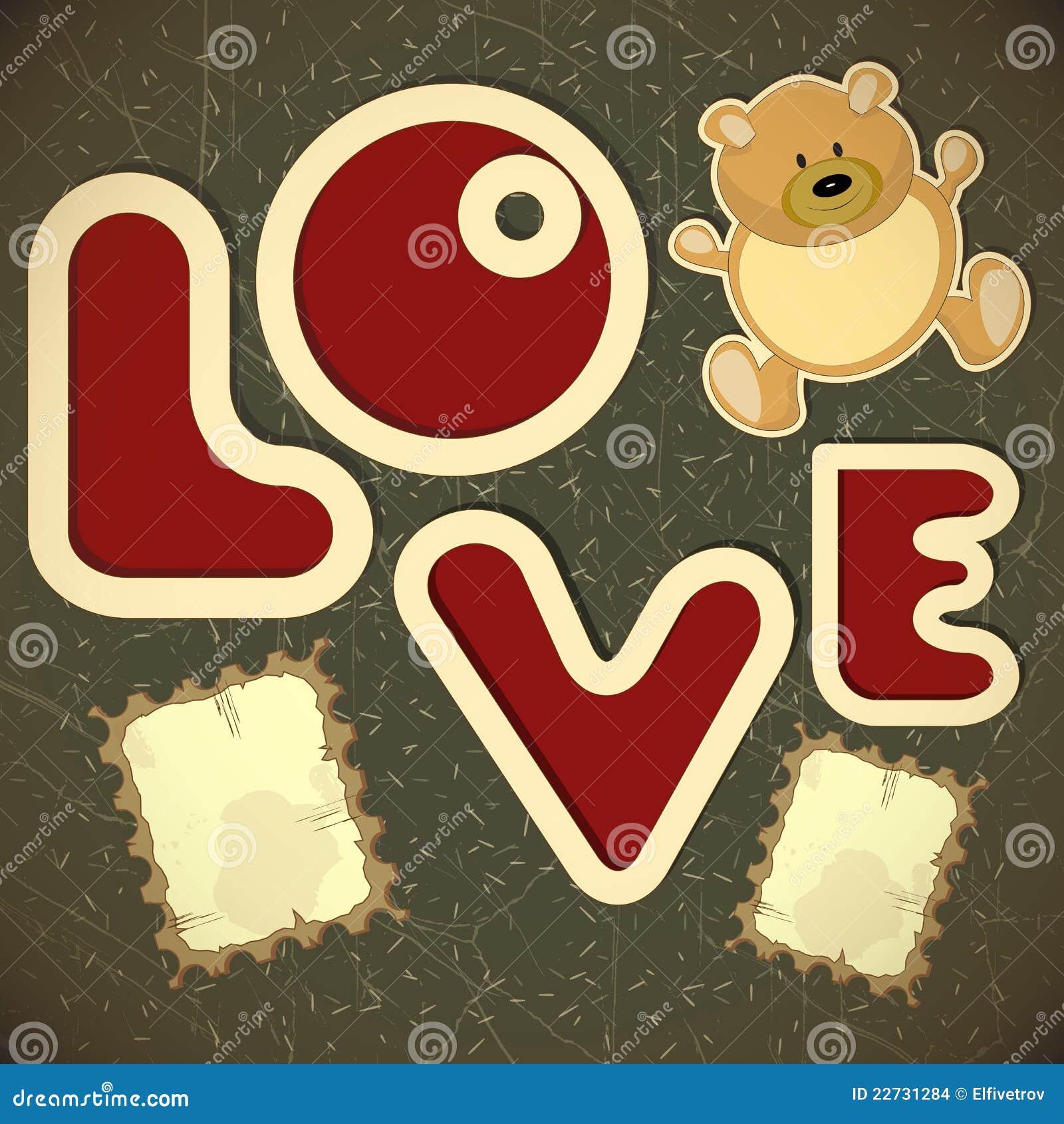 Amour - cardez pour le jour de Valentine