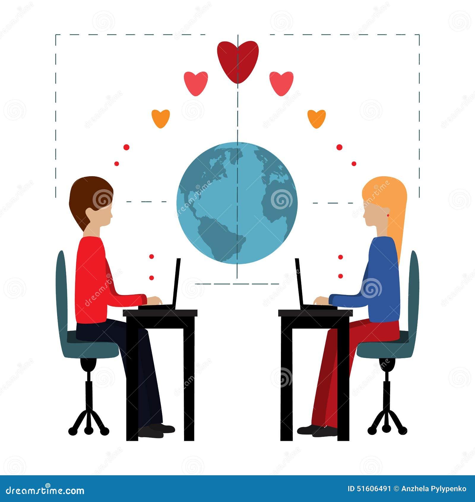Flirter d'amour