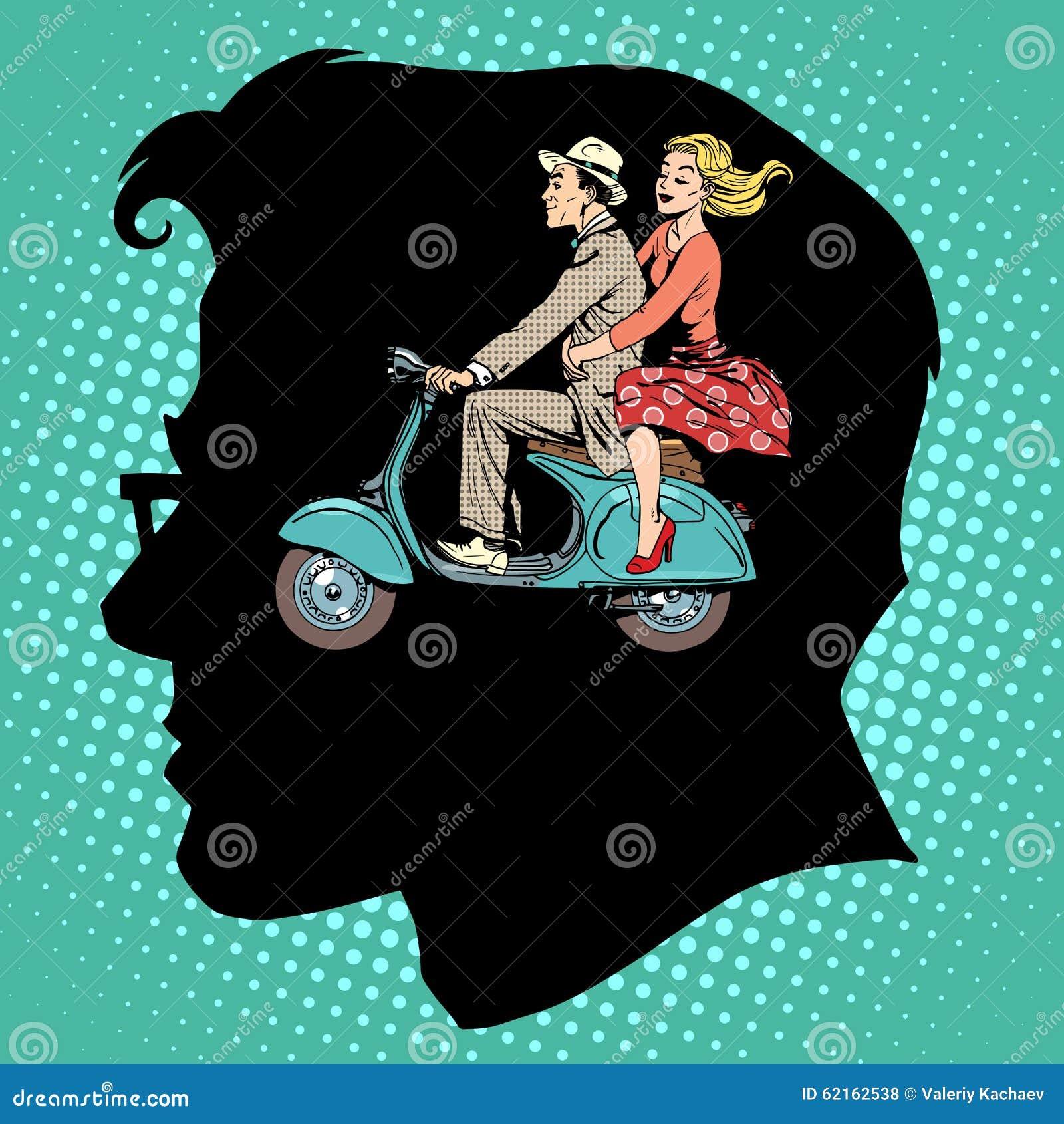 Amour de jalousie hommes-femmes