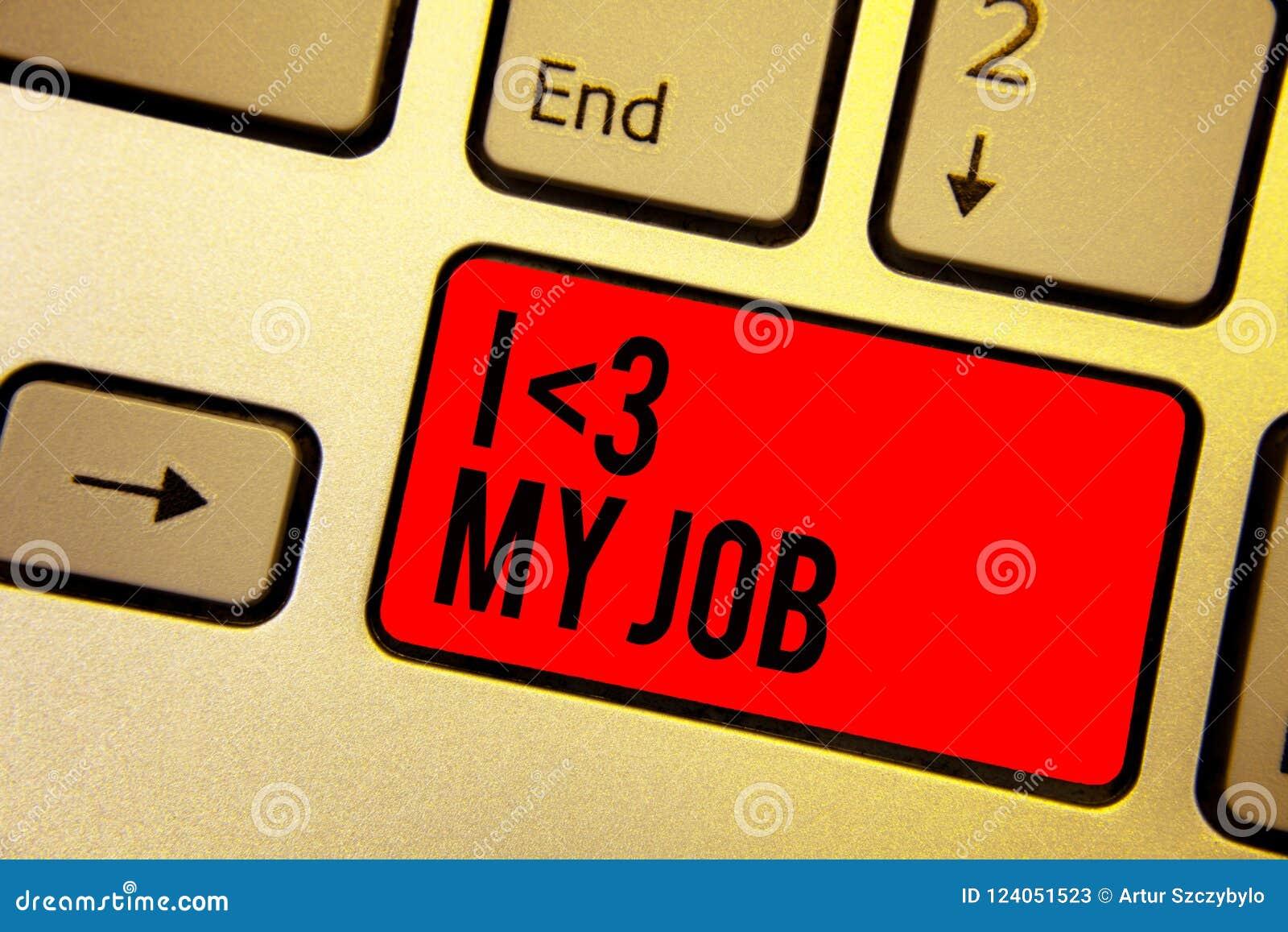 Amour de l écriture I des textes d écriture mon travail Signification de concept indiquant à quelqu un que vous admirez votre clé