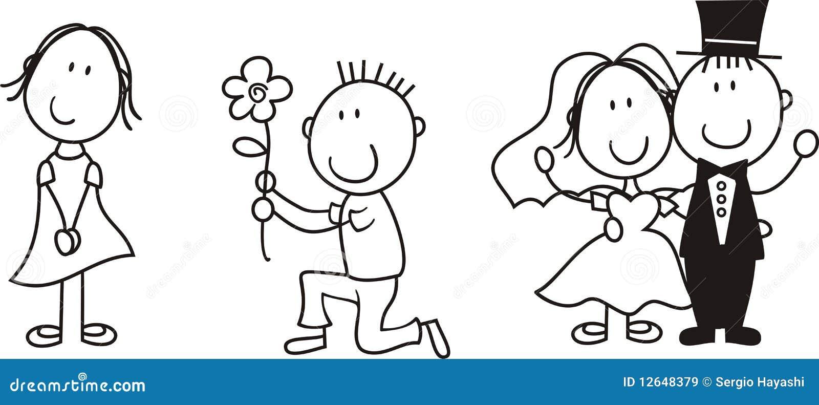 Amour De Panneau D Histoire Illustration De Vecteur Illustration