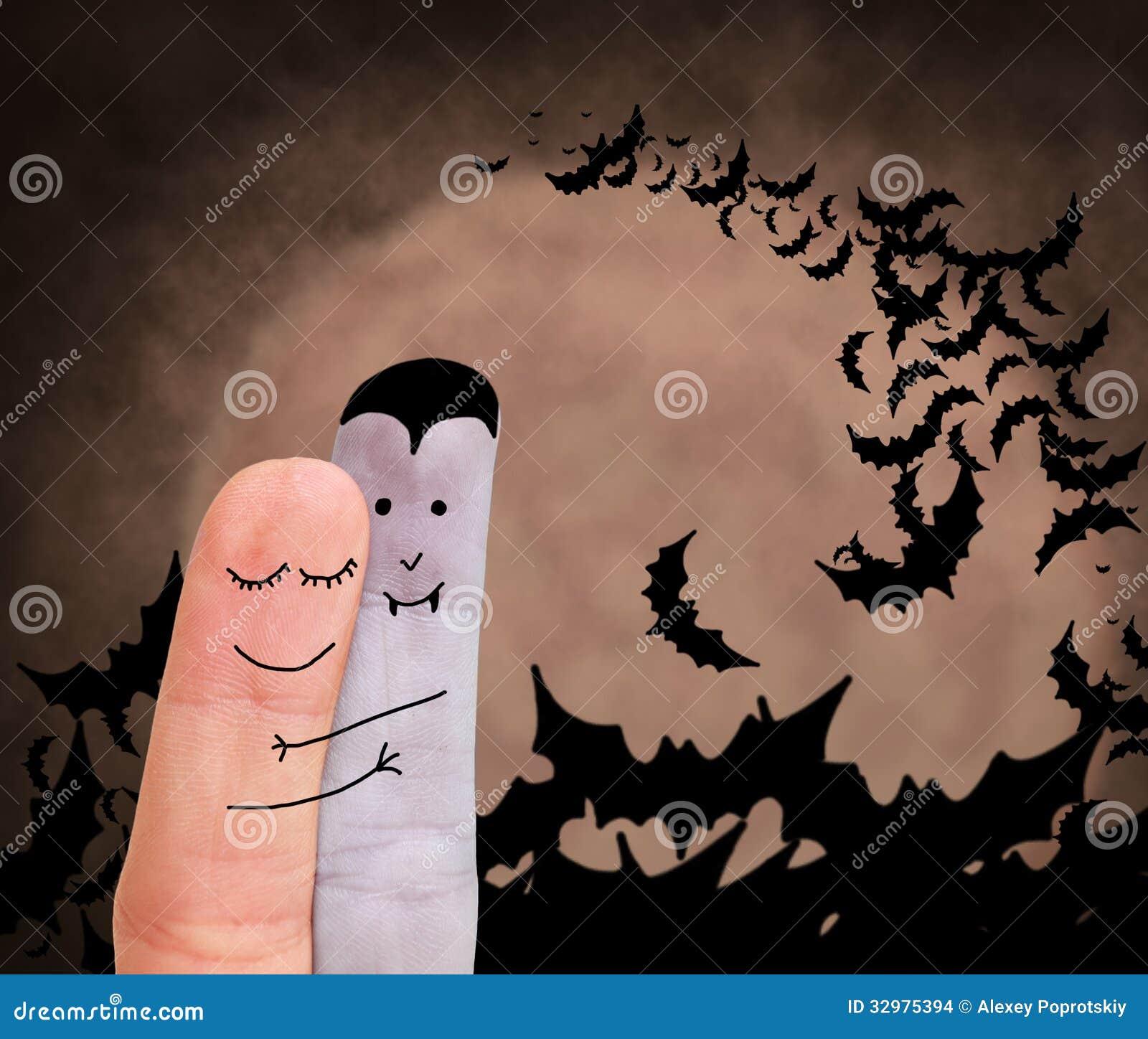 Amour entre le vampire et l humain