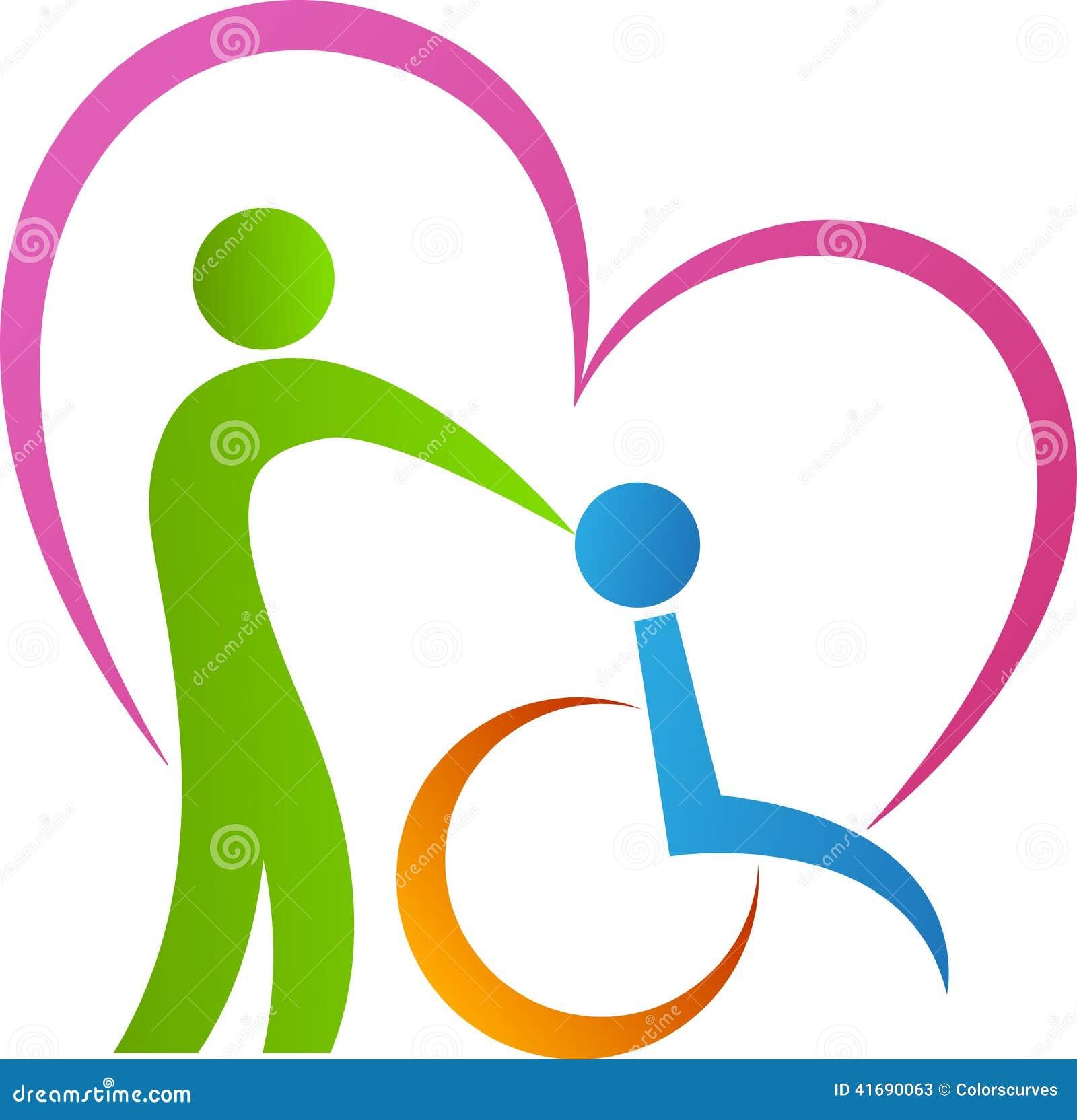 Amour Handicapé Illustration de Vecteur - Image: 41690063