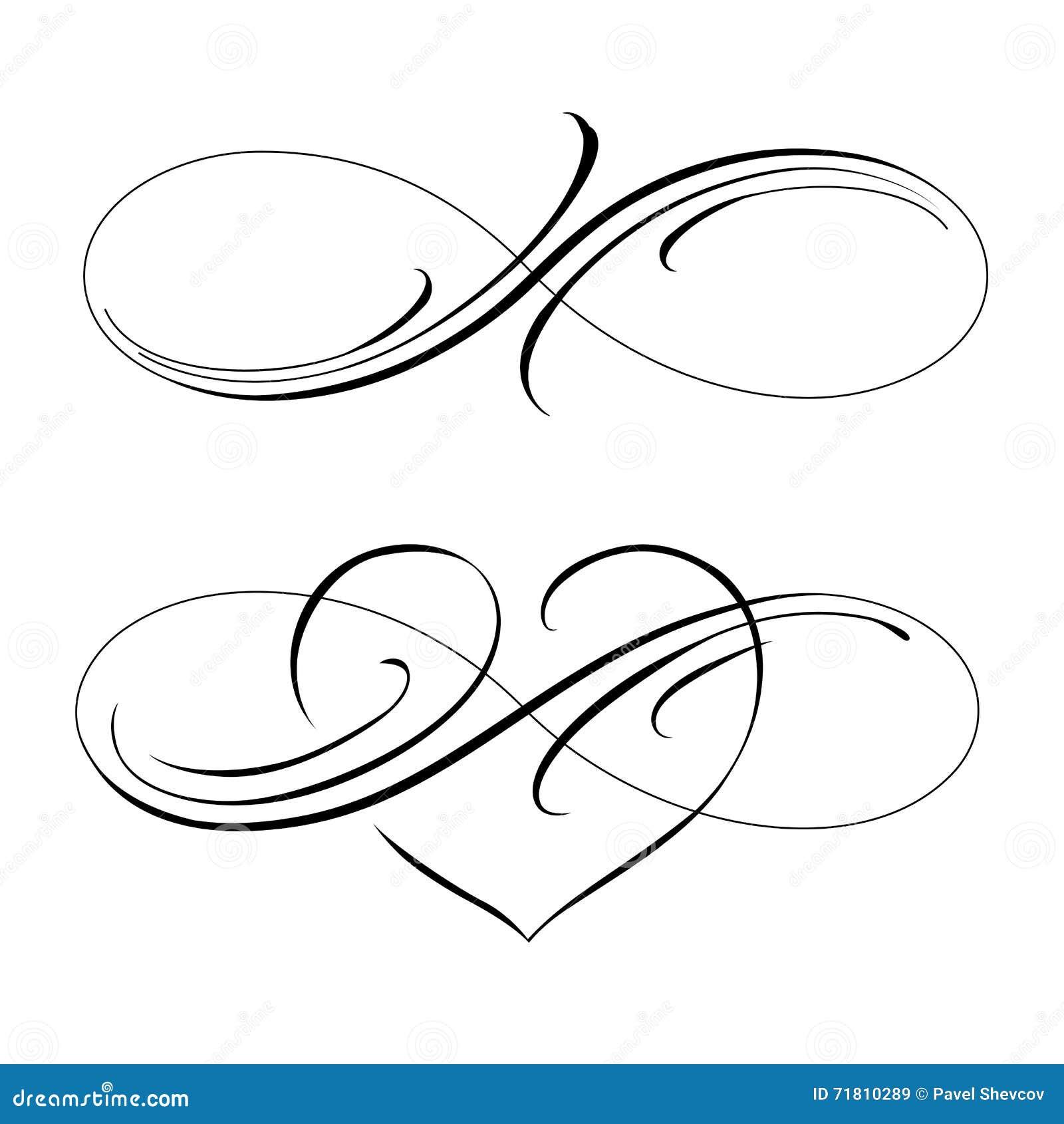 amour infini illustration de vecteur illustration du mouvement 71810289. Black Bedroom Furniture Sets. Home Design Ideas